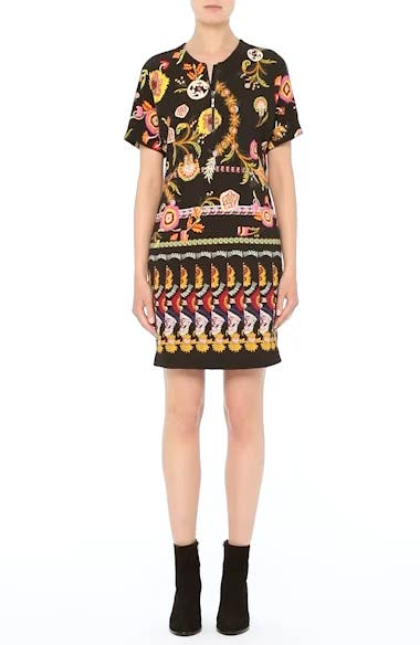 Floral & Paisley Jersey Dress, video thumbnail