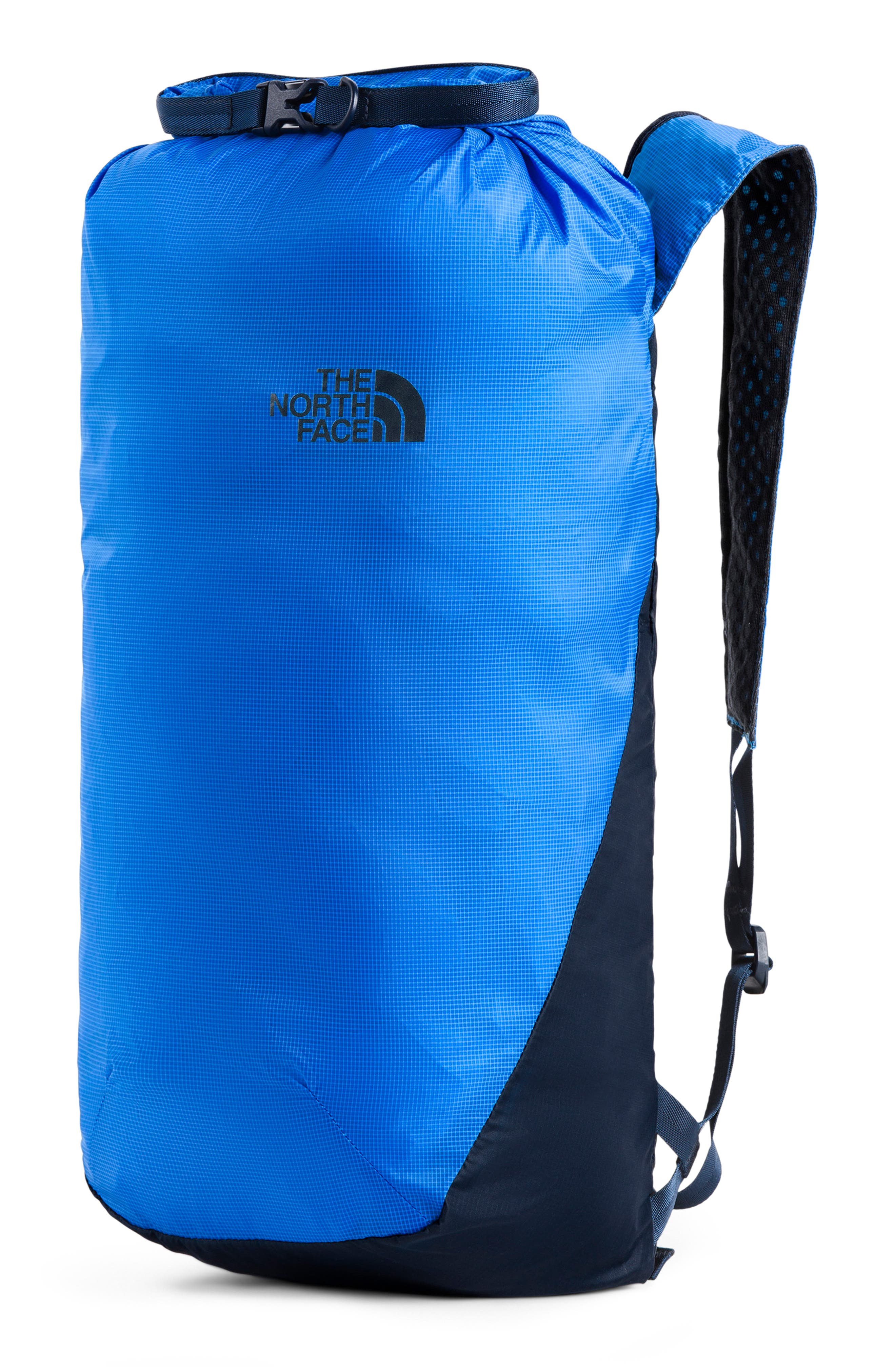 The North Face Flyweight Rolltop Backpack - Blue