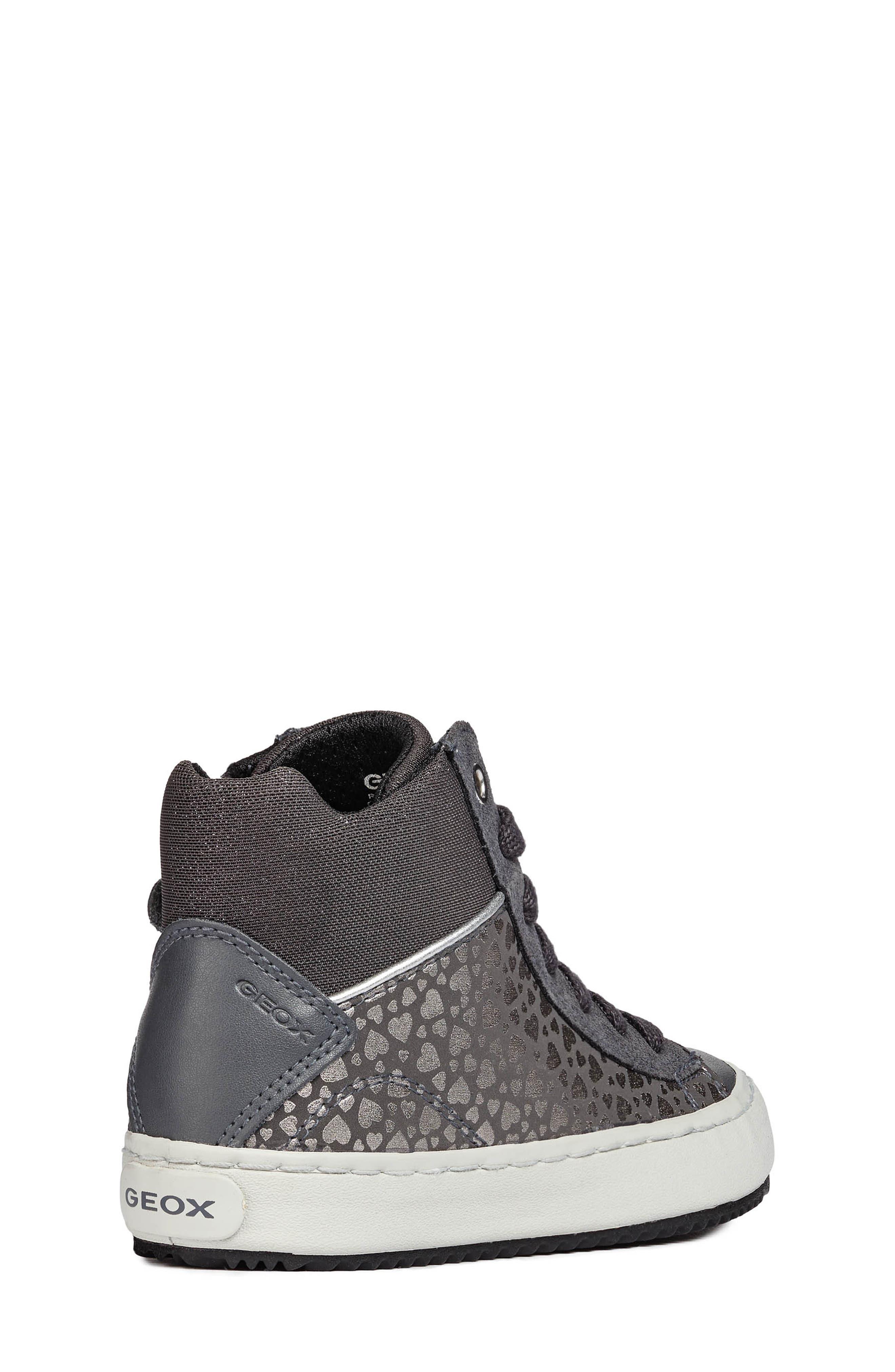 Kalispera High Top Sneaker,                             Alternate thumbnail 5, color,                             DARK GREY