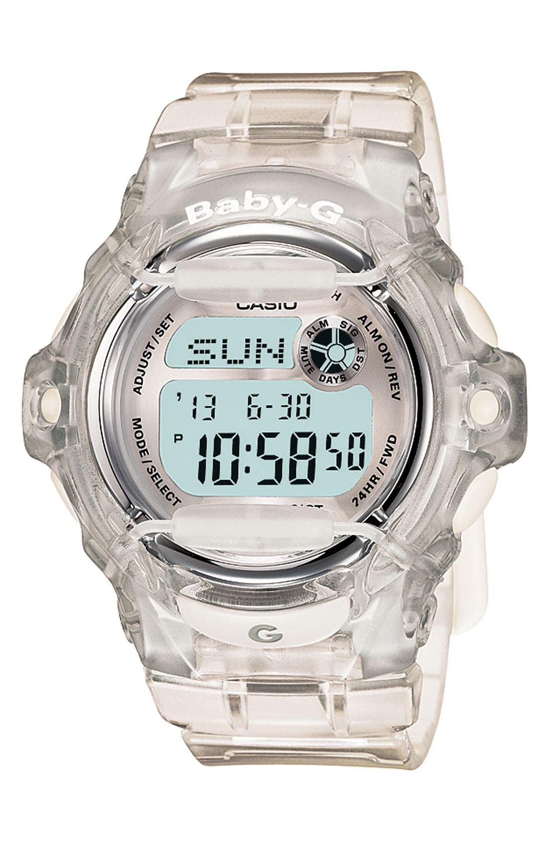 Baby-G Jelly Watch, 46mm,                             Main thumbnail 2, color,