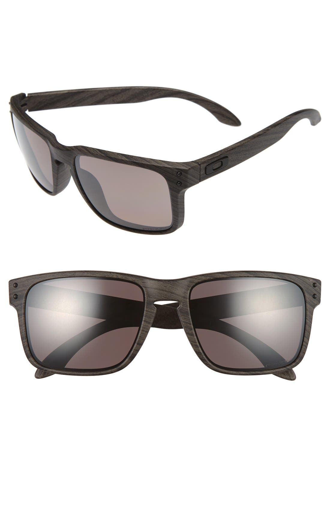 'Holbrook' 55mm Polarized Sunglasses,                             Main thumbnail 1, color,                             BROWN