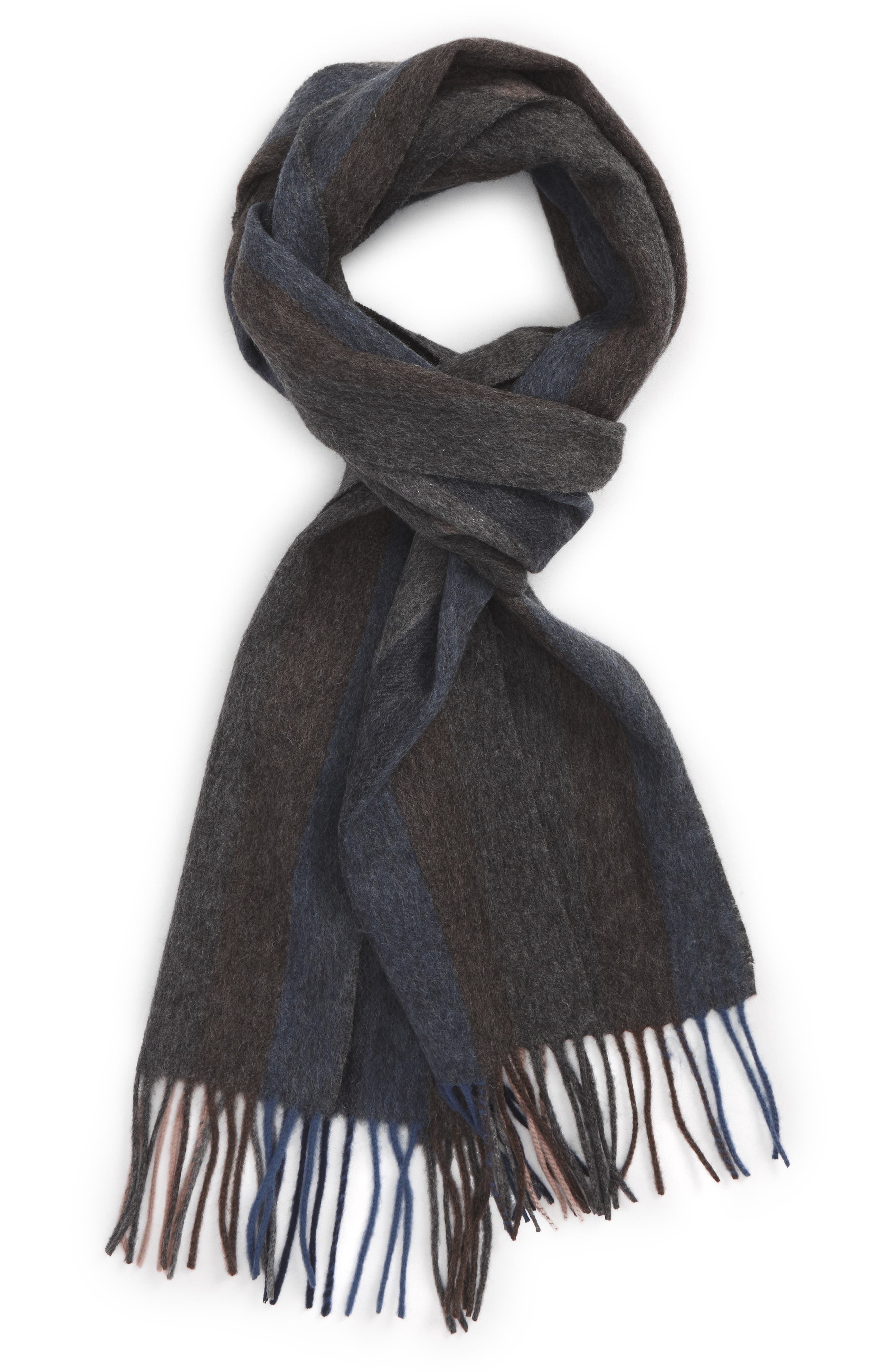 Lambswool Stripe Scarf,                             Main thumbnail 1, color,                             210