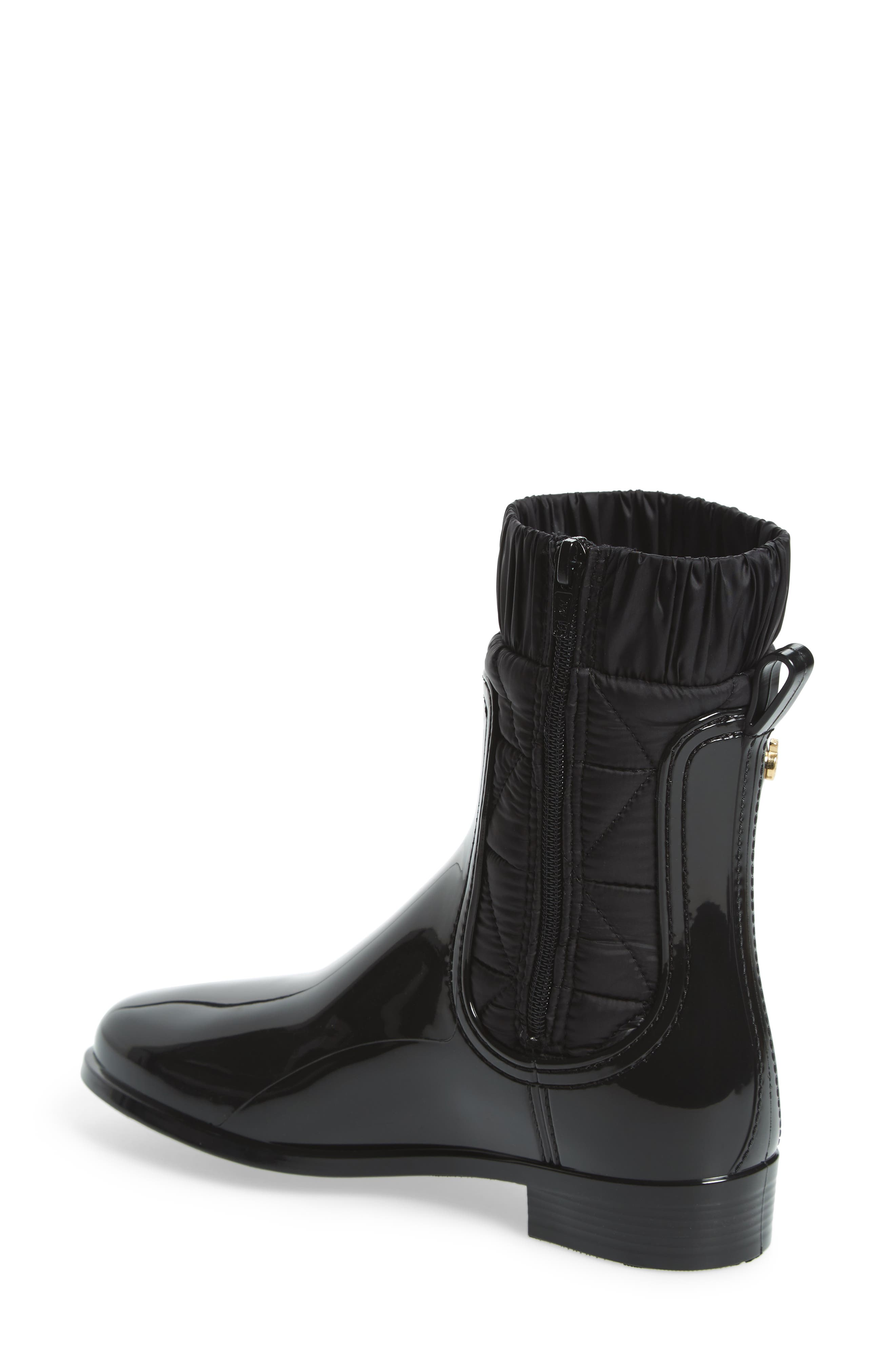 Adele Waterproof Boot,                             Alternate thumbnail 2, color,                             BLACK GLOSS