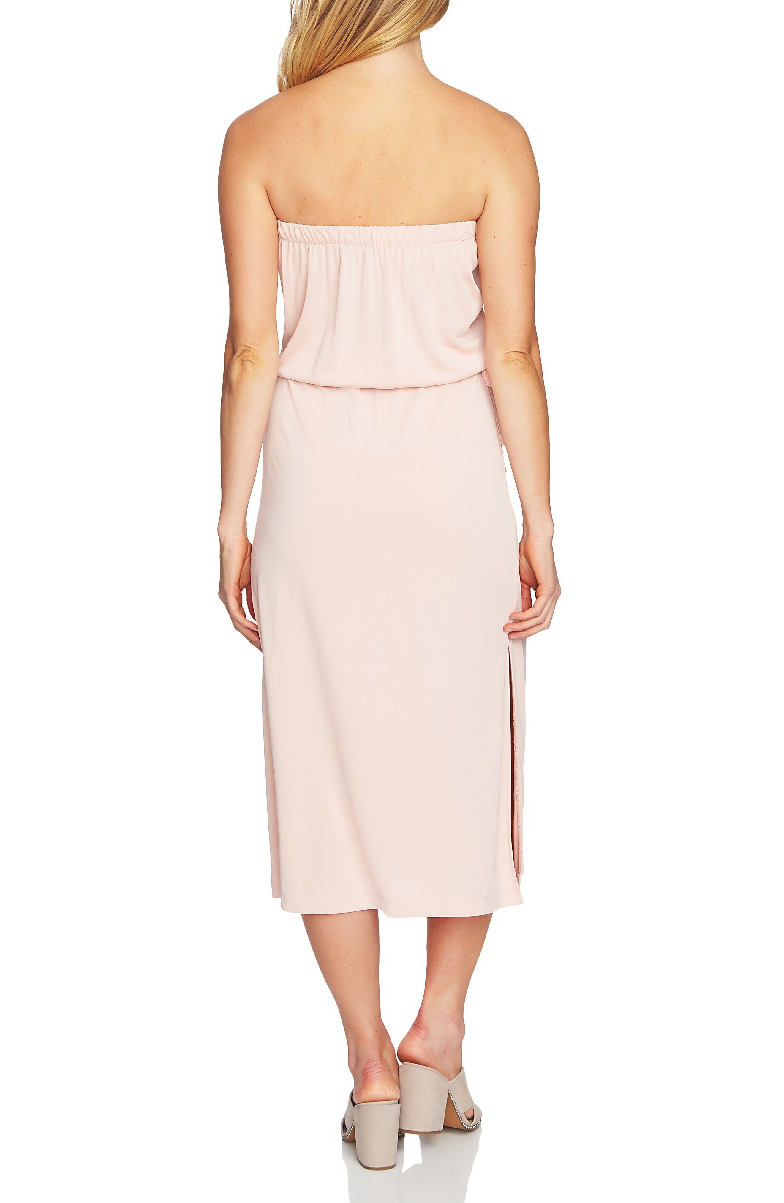 Strapless Maxi Dress,                             Alternate thumbnail 8, color,