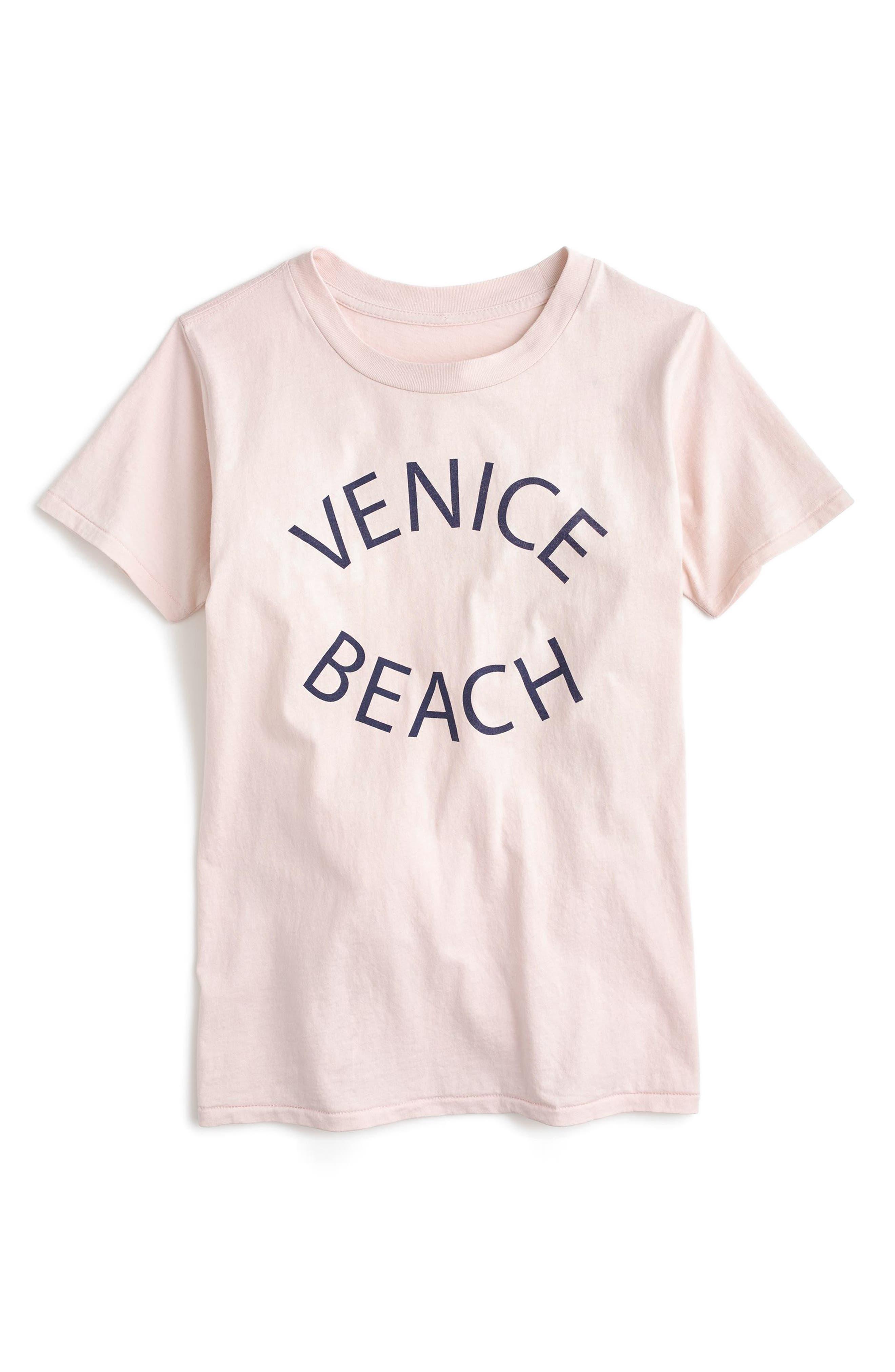 Venice Beach Graphic Tee,                             Main thumbnail 1, color,                             650