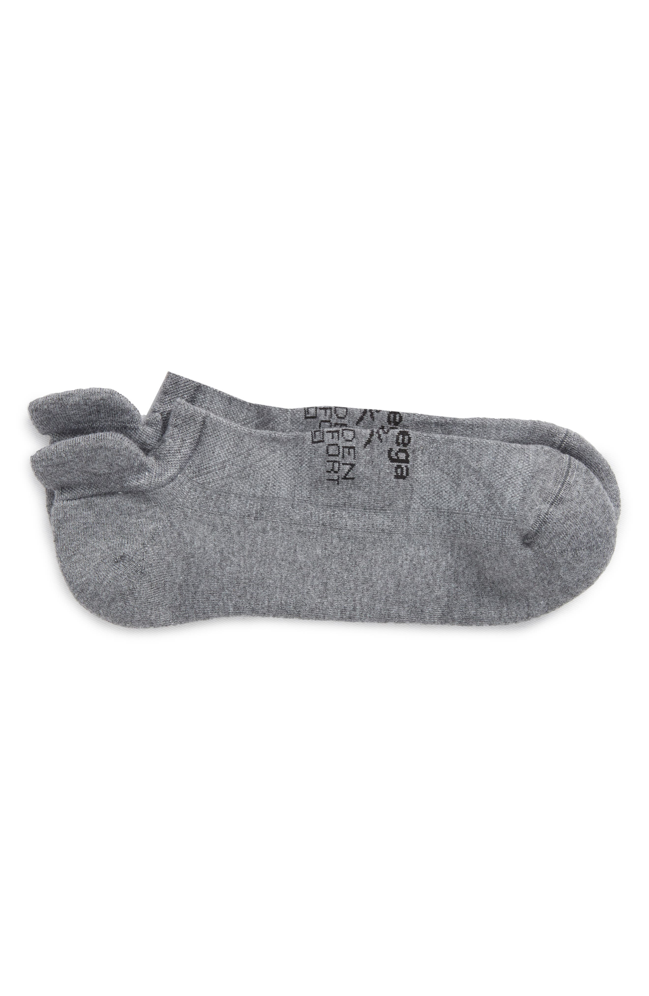 Hidden Comfort Socks,                             Main thumbnail 1, color,                             CHARCOAL