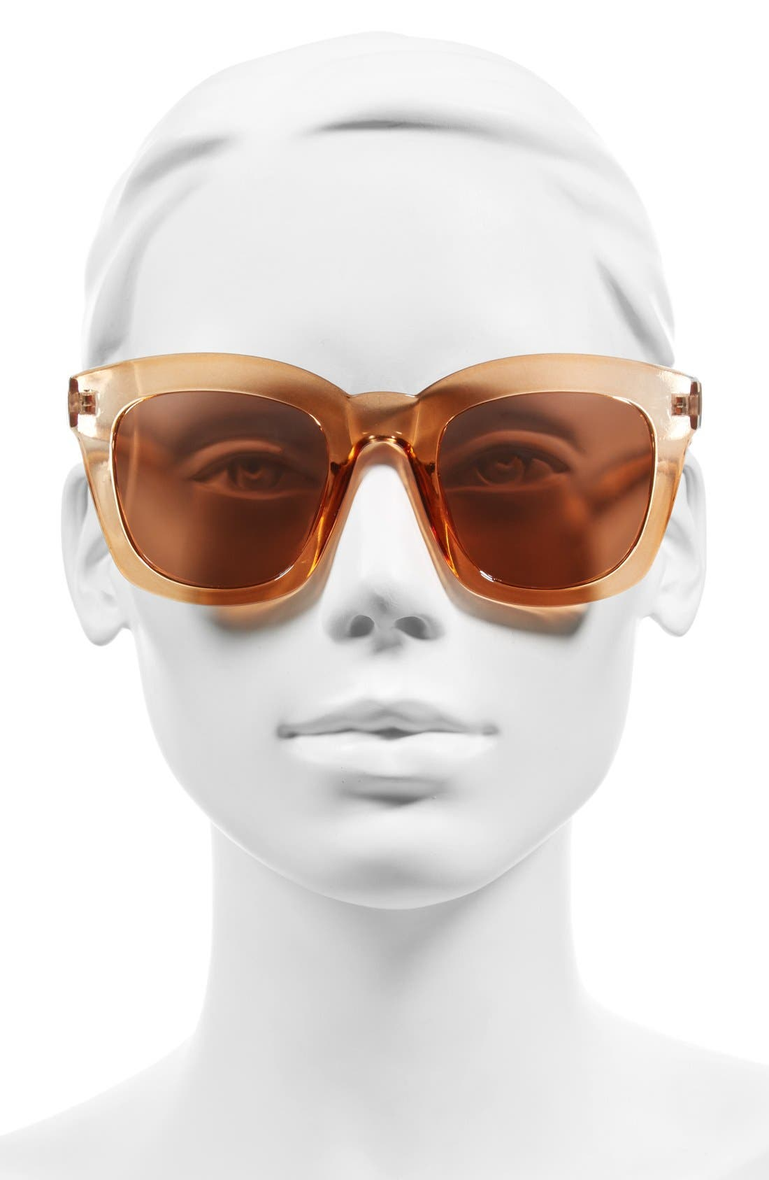 50mm Mirror Square Sunglasses,                             Alternate thumbnail 2, color,                             715