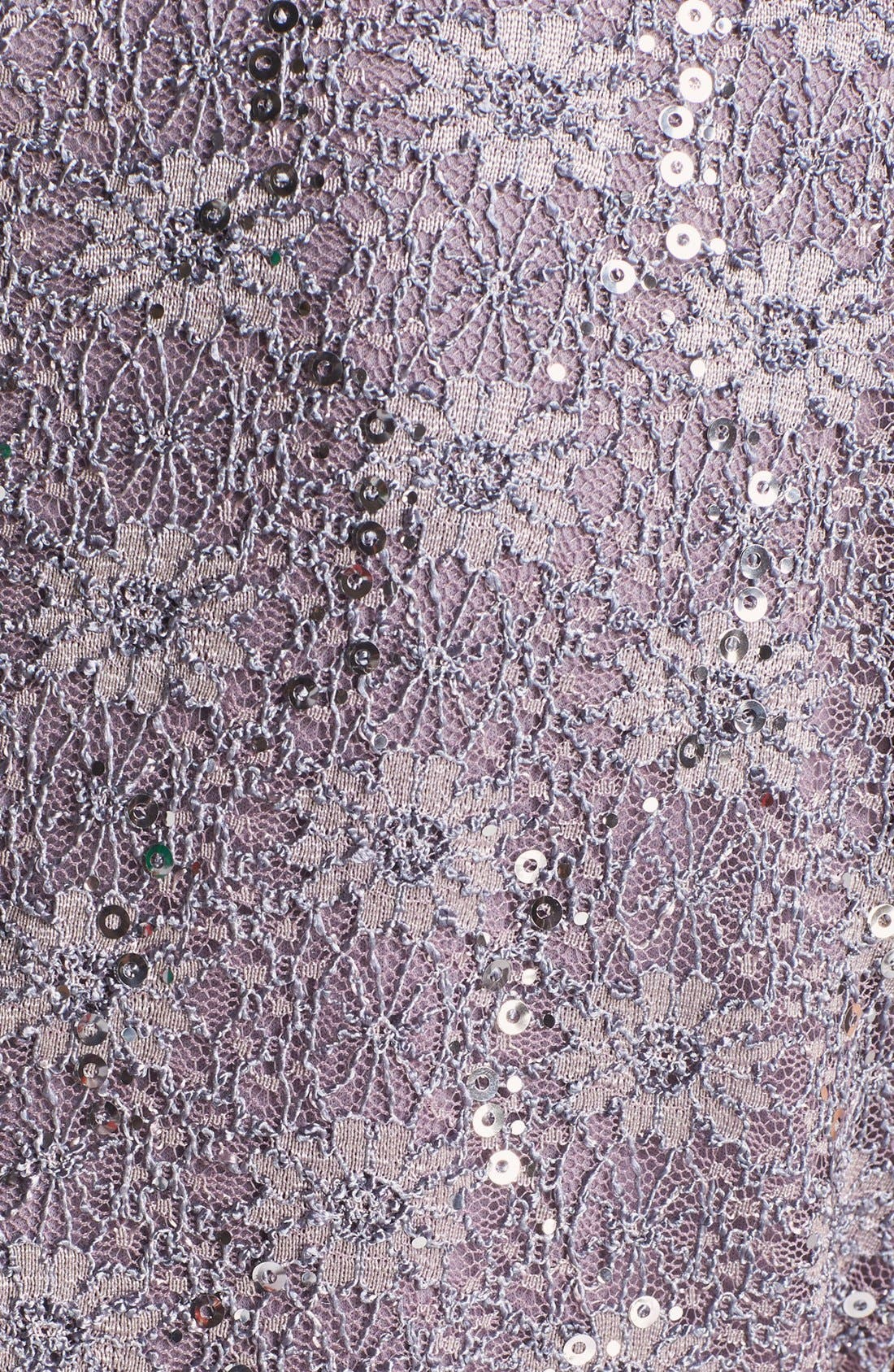 Sequin Lace Overlay Sheath Dress,                             Alternate thumbnail 4, color,                             031