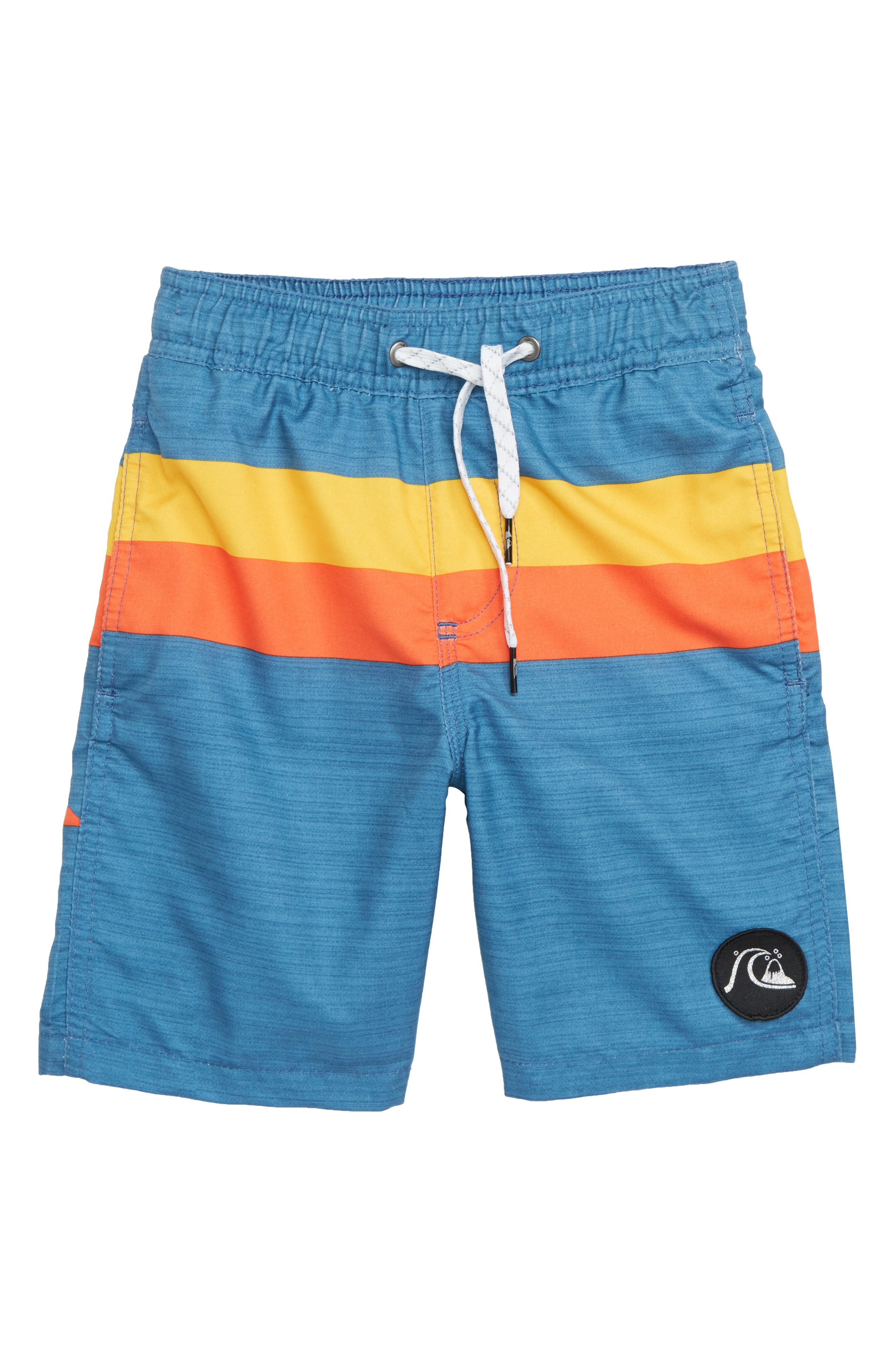 Mystery Bus Volley Shorts, Main, color, STELLAR