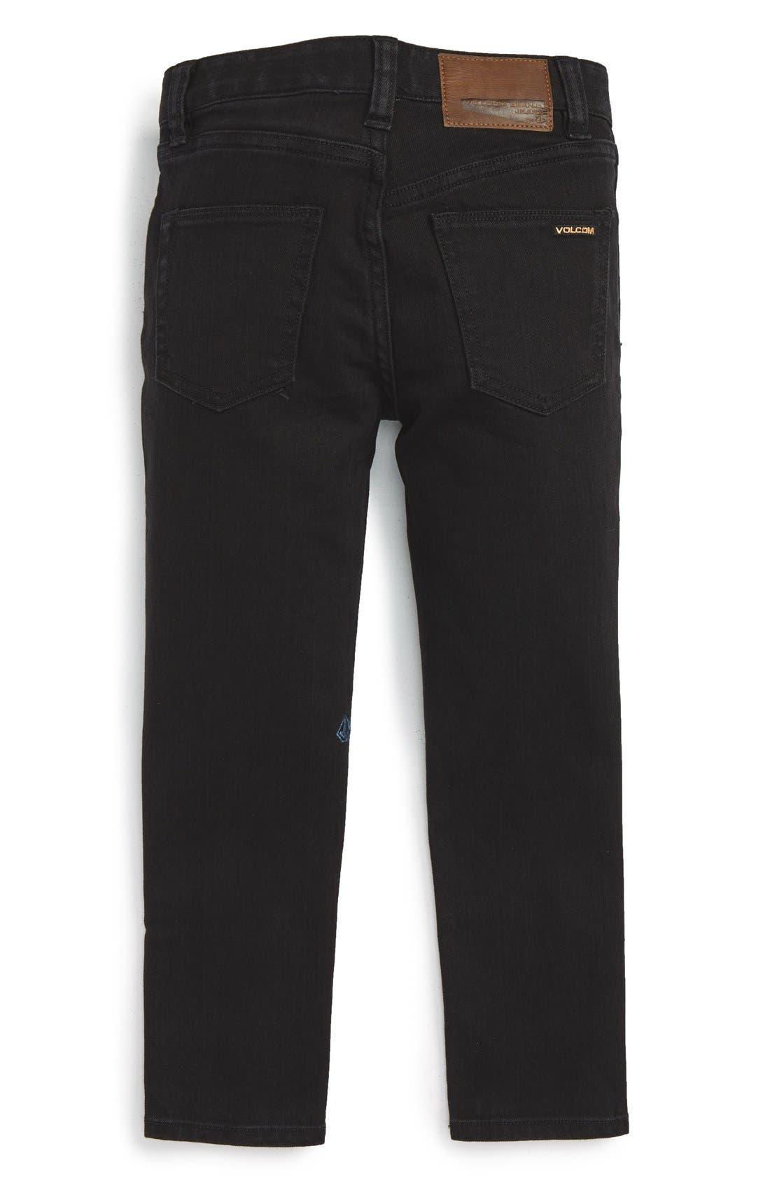 'Solver' Straight Leg Denim Jeans,                         Main,                         color,