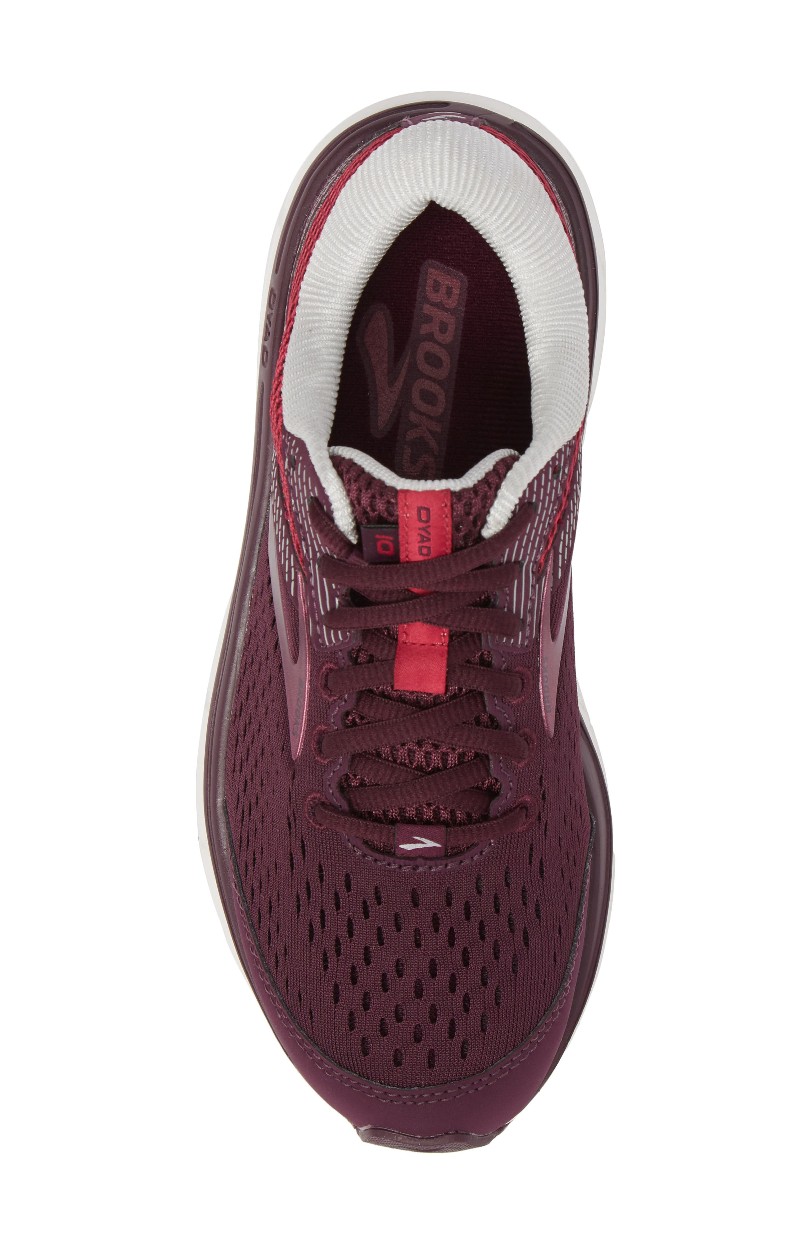 Dyad 10 Running Shoe,                             Alternate thumbnail 5, color,                             PURPLE/ PINK/ GREY