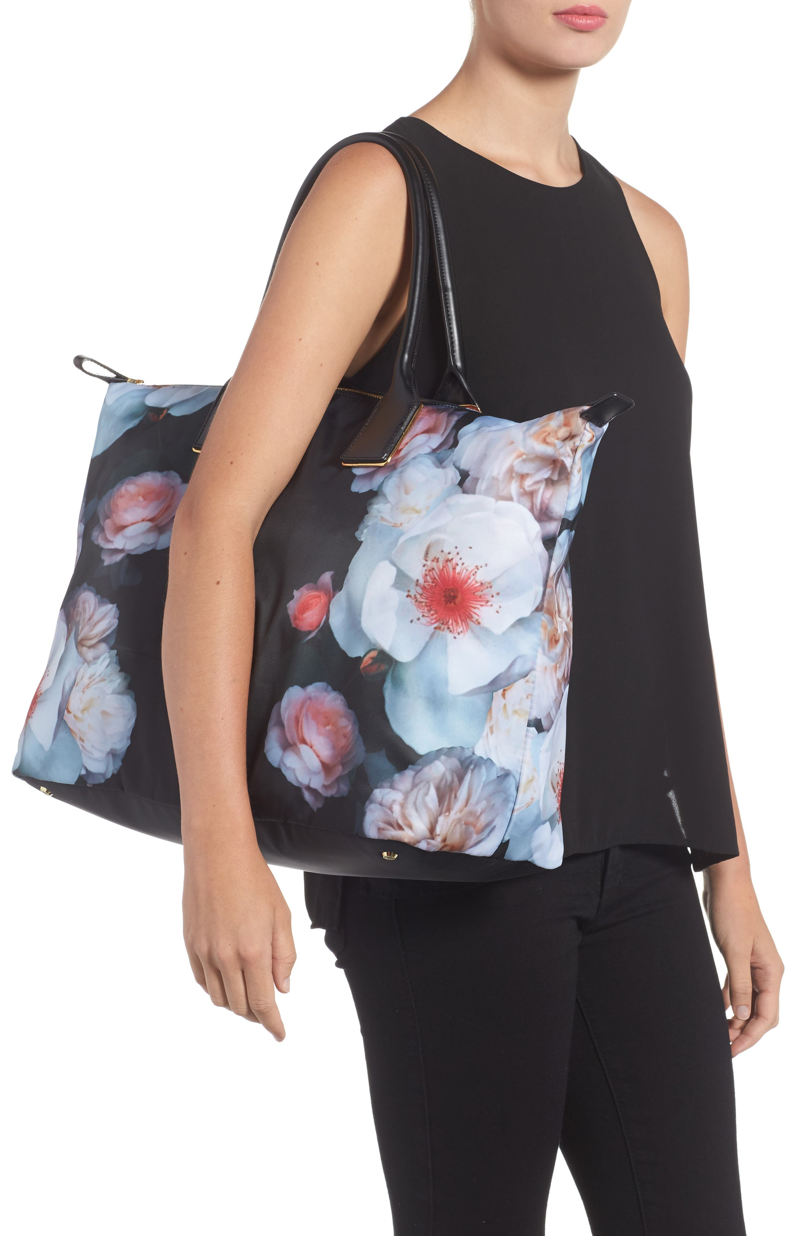 Large Cayenna Chelsea Tote,                             Alternate thumbnail 2, color,                             001