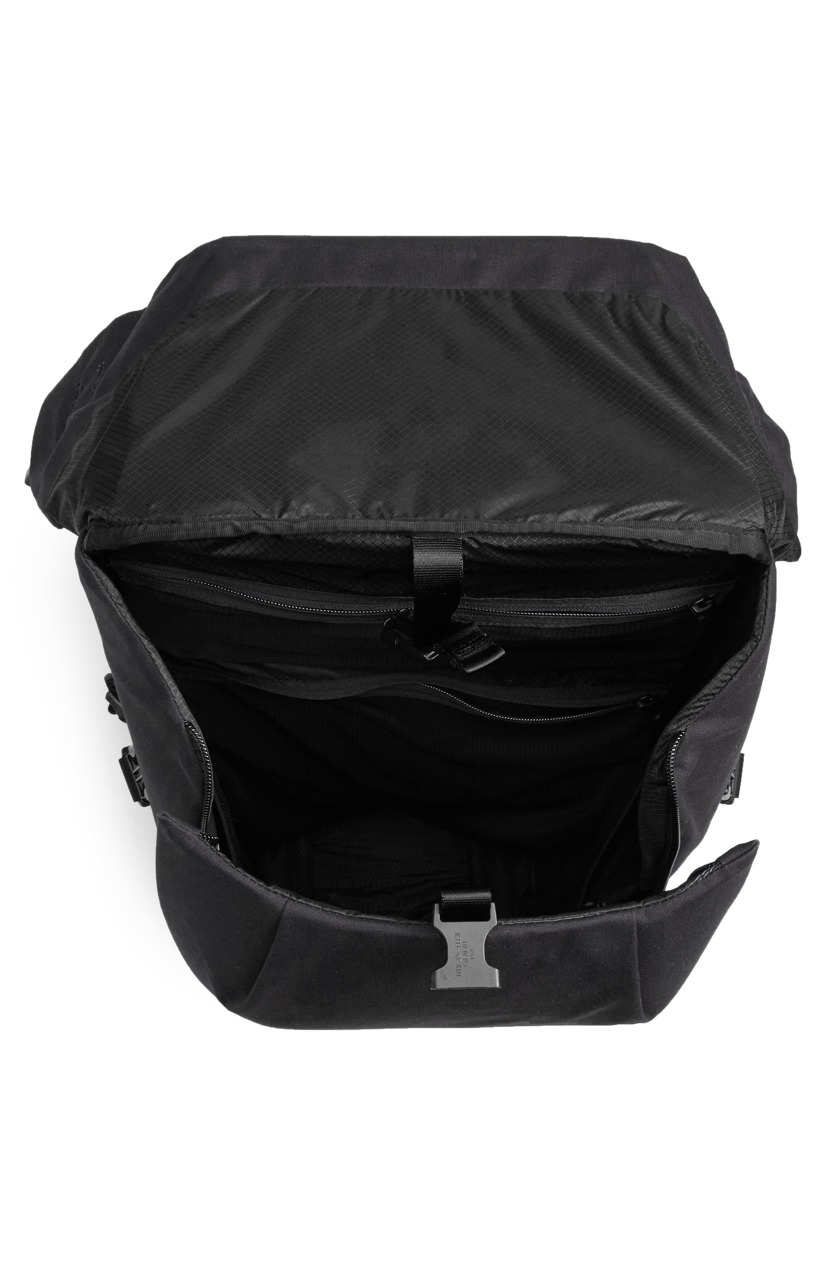 Locker Pack Lux Backpack,                             Alternate thumbnail 4, color,                             001