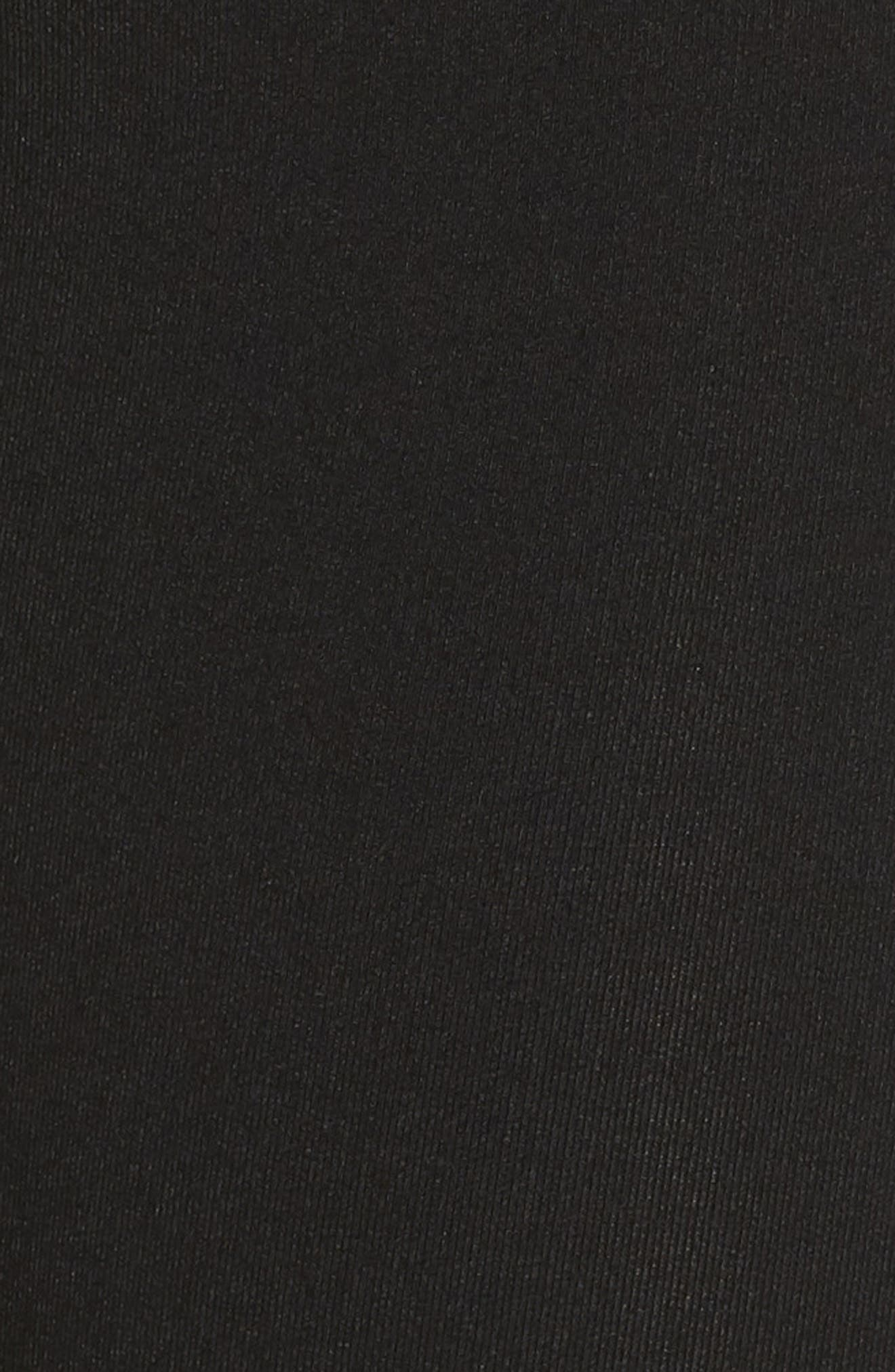 Comet Winter Sports Tights,                             Alternate thumbnail 6, color,                             BLACK