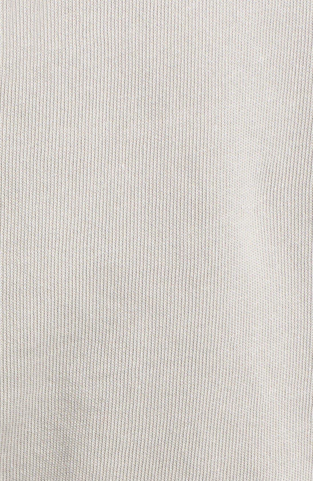 'Please Do Not Disturb' Hooded Sweatshirt,                             Alternate thumbnail 3, color,                             060