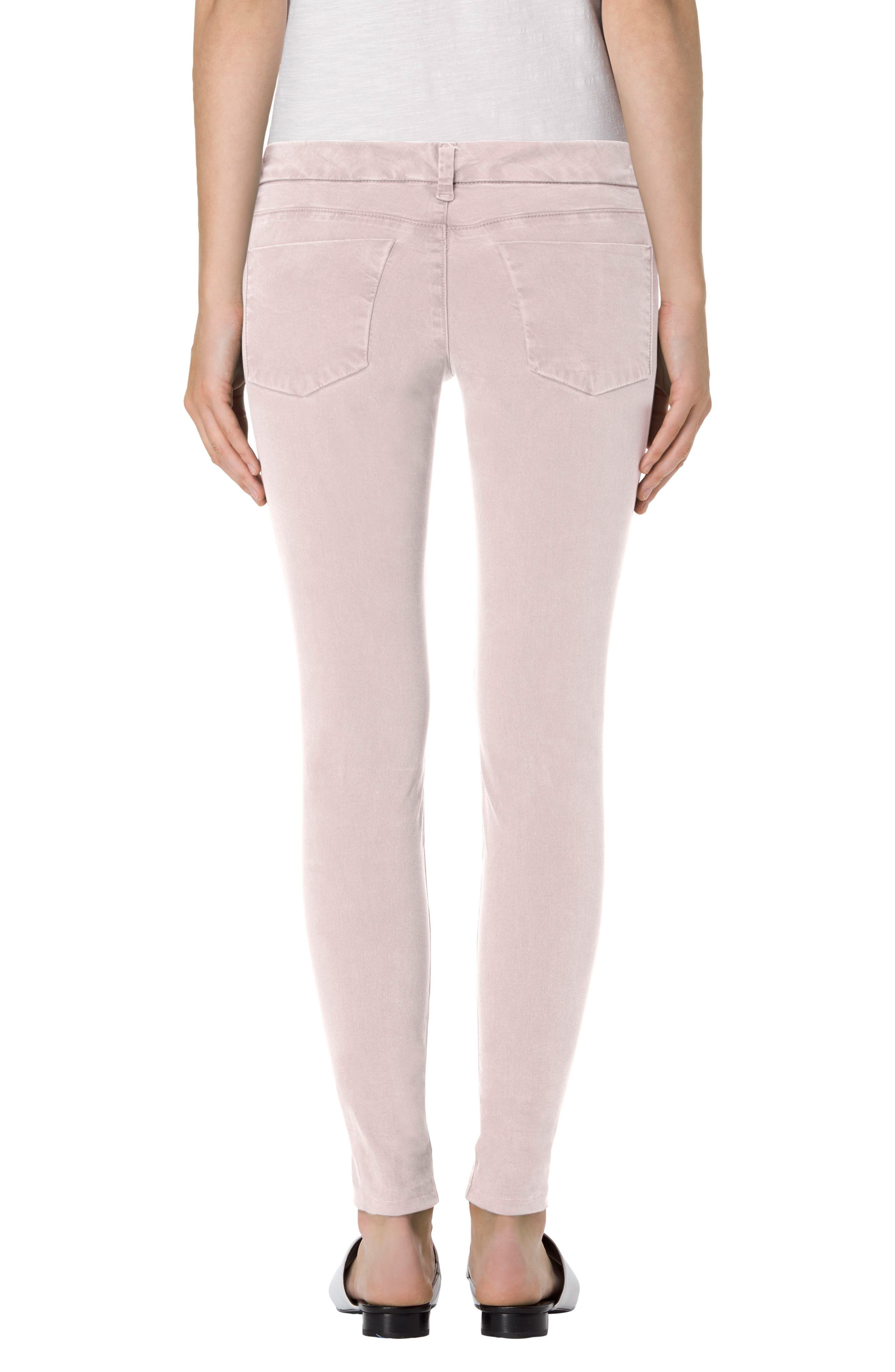 High Waist Ankle Super Skinny Jeans,                             Alternate thumbnail 39, color,