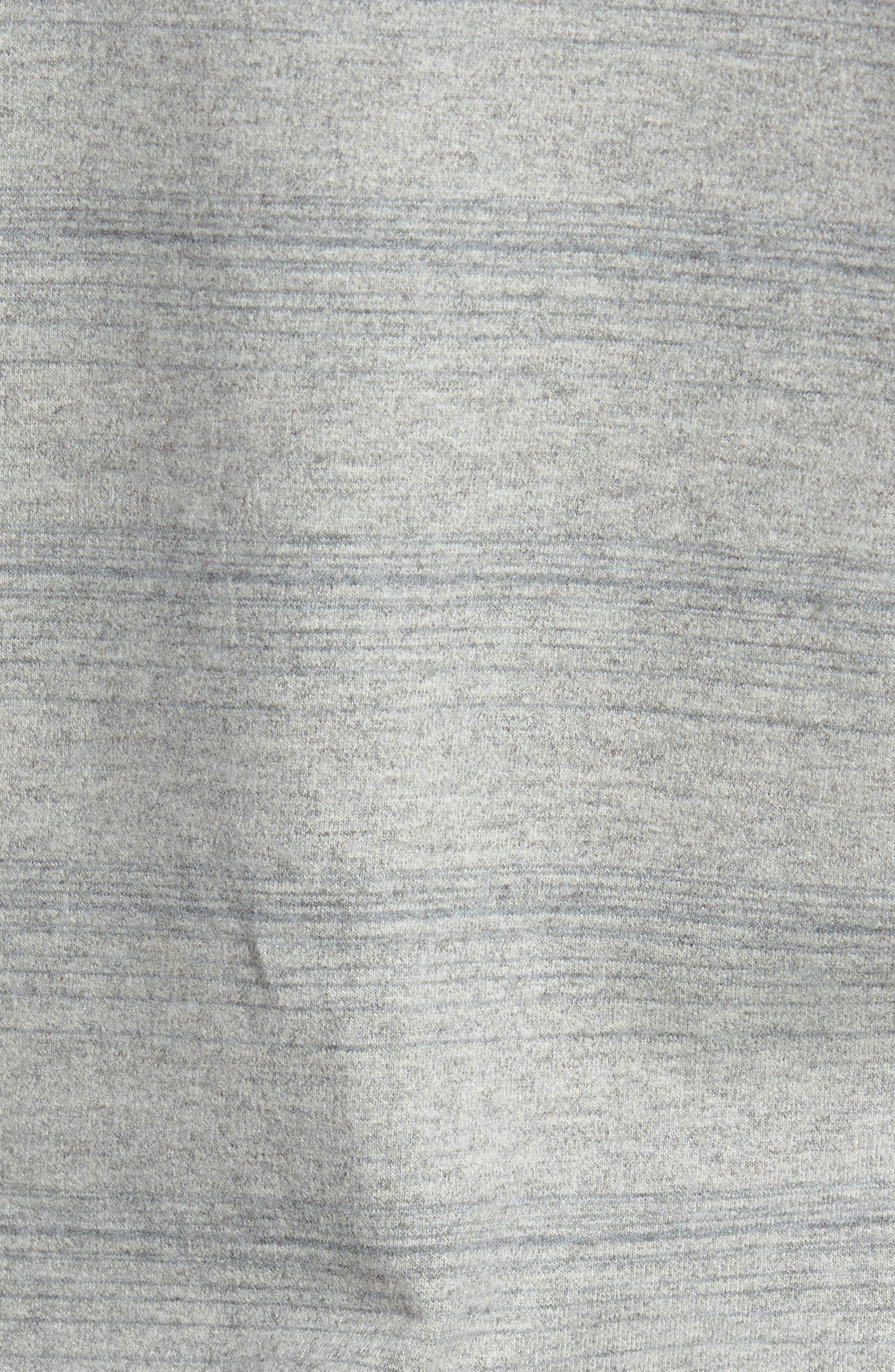 Striped Crewneck Sweater,                             Alternate thumbnail 5, color,                             035
