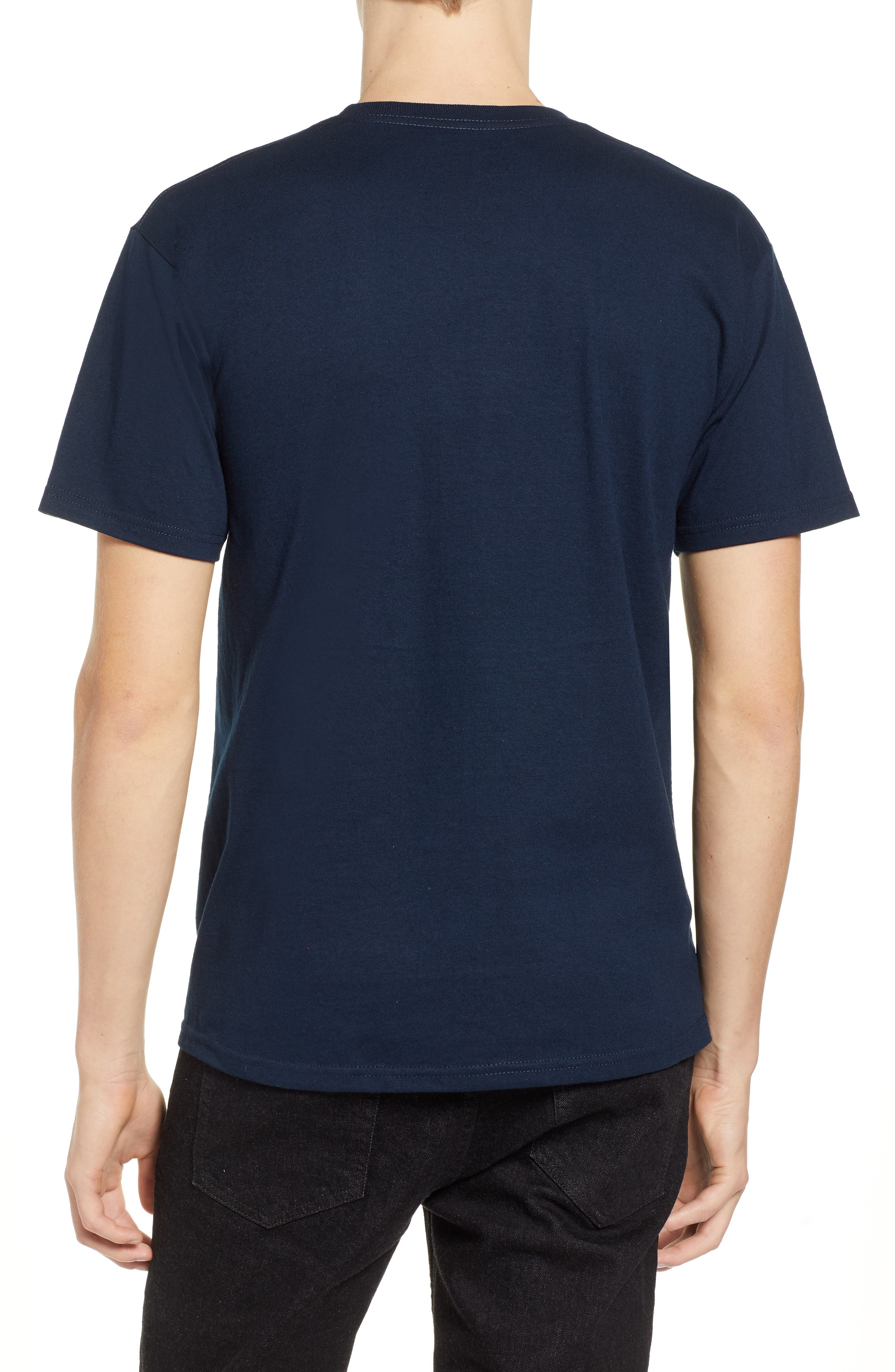 Proxy Short Sleeve Logo T-Shirt,                             Alternate thumbnail 2, color,                             NAVY