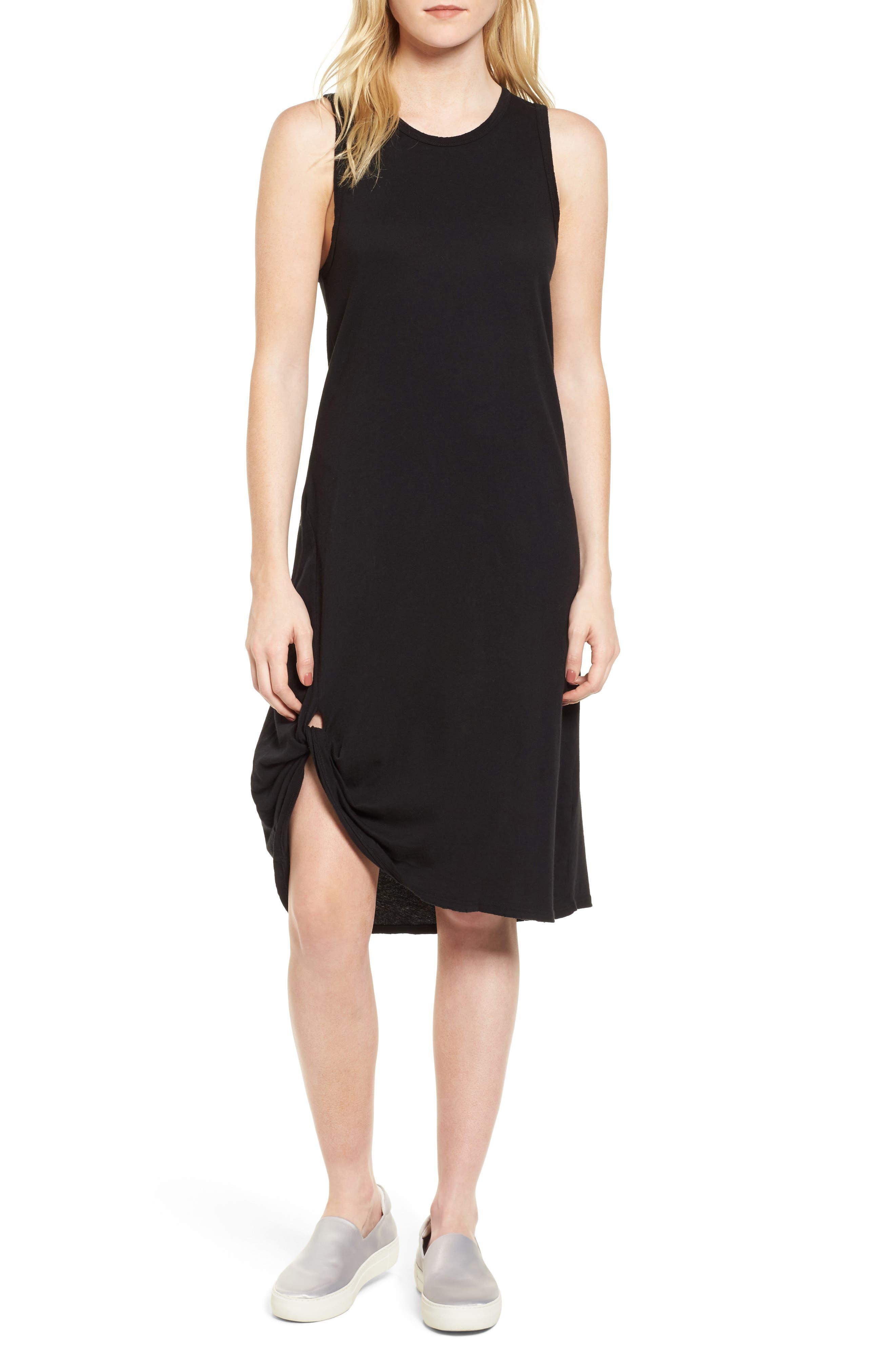 Boo Jersey Tank Dress,                             Main thumbnail 1, color,                             001