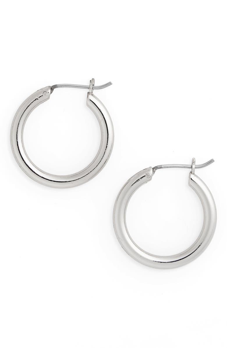 Small Endless Hoop Earrings