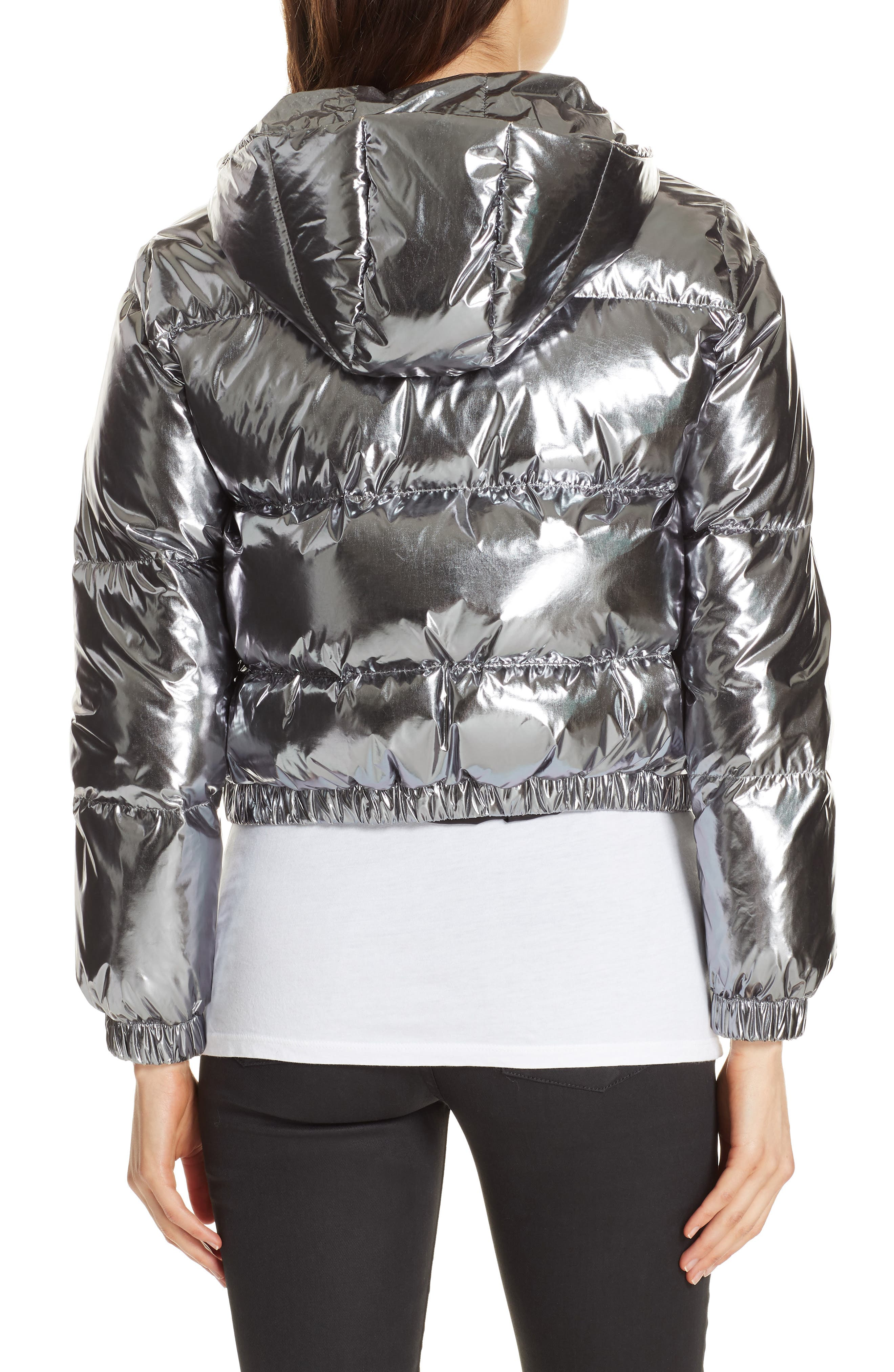Durham Hooded Crop Down Puffer,                             Alternate thumbnail 2, color,                             046