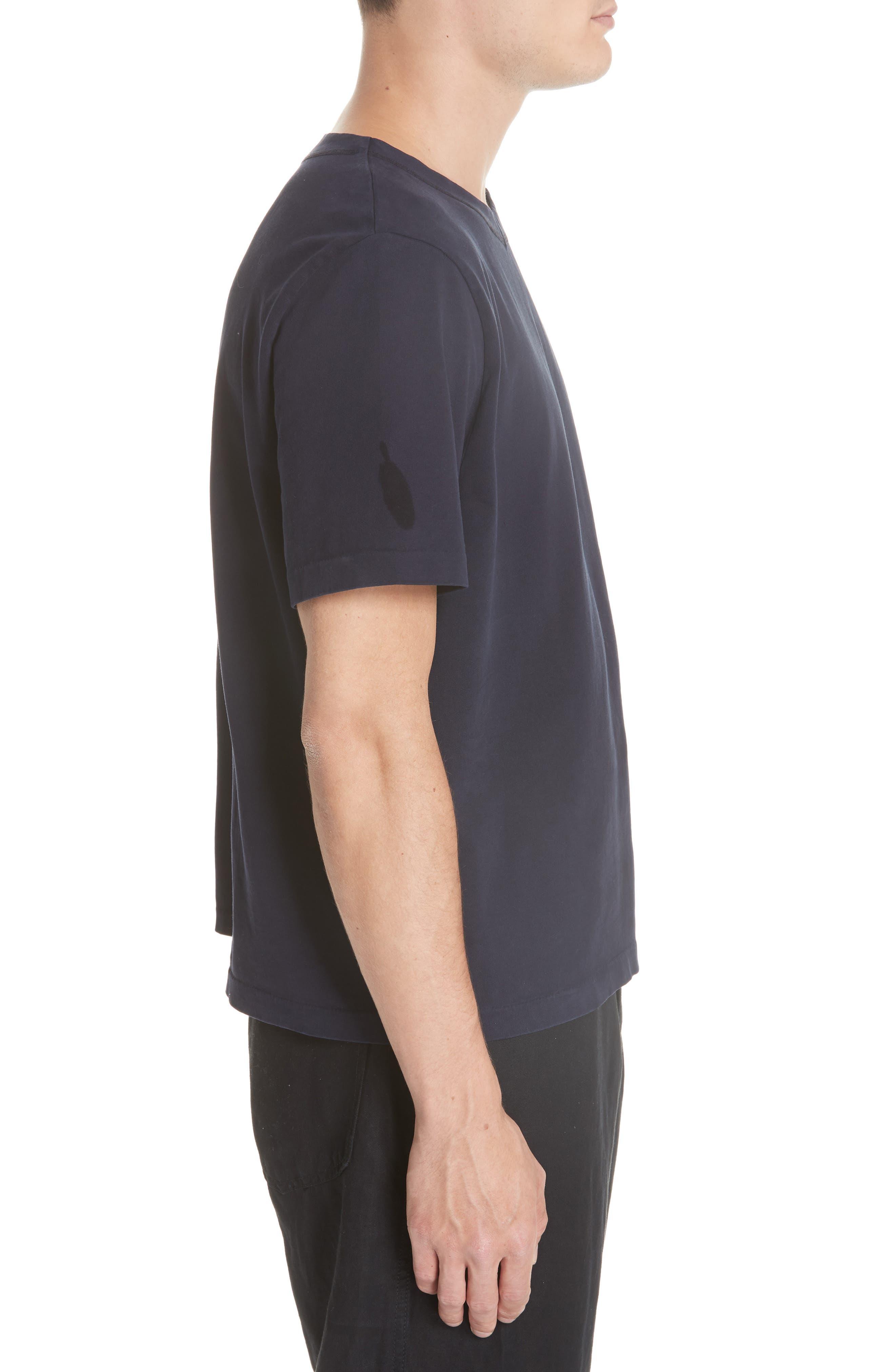 Clean Box T-Shirt,                             Alternate thumbnail 3, color,                             NAVY