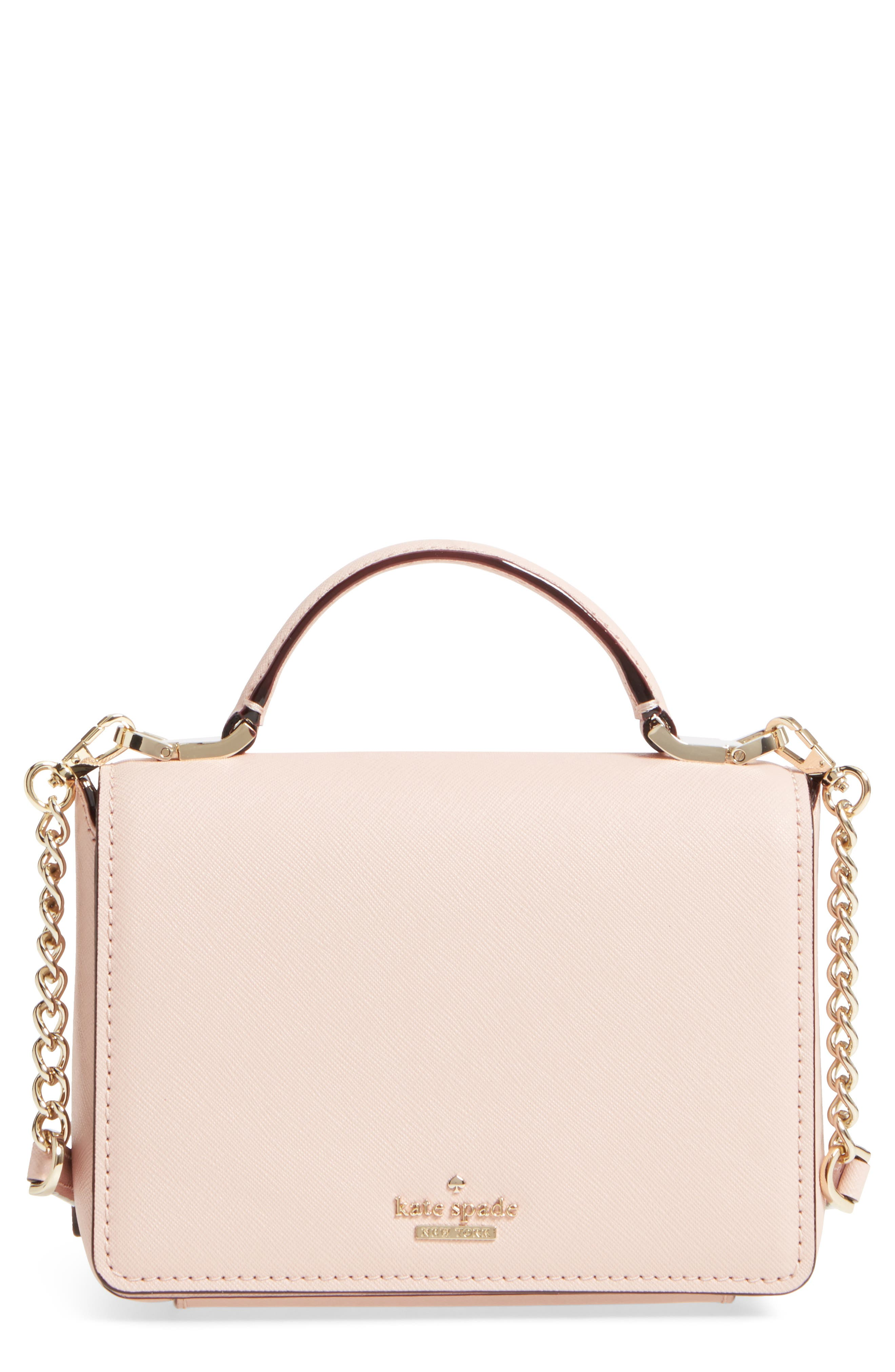 cameron street - hope saffiano leather crossbody bag,                             Main thumbnail 3, color,