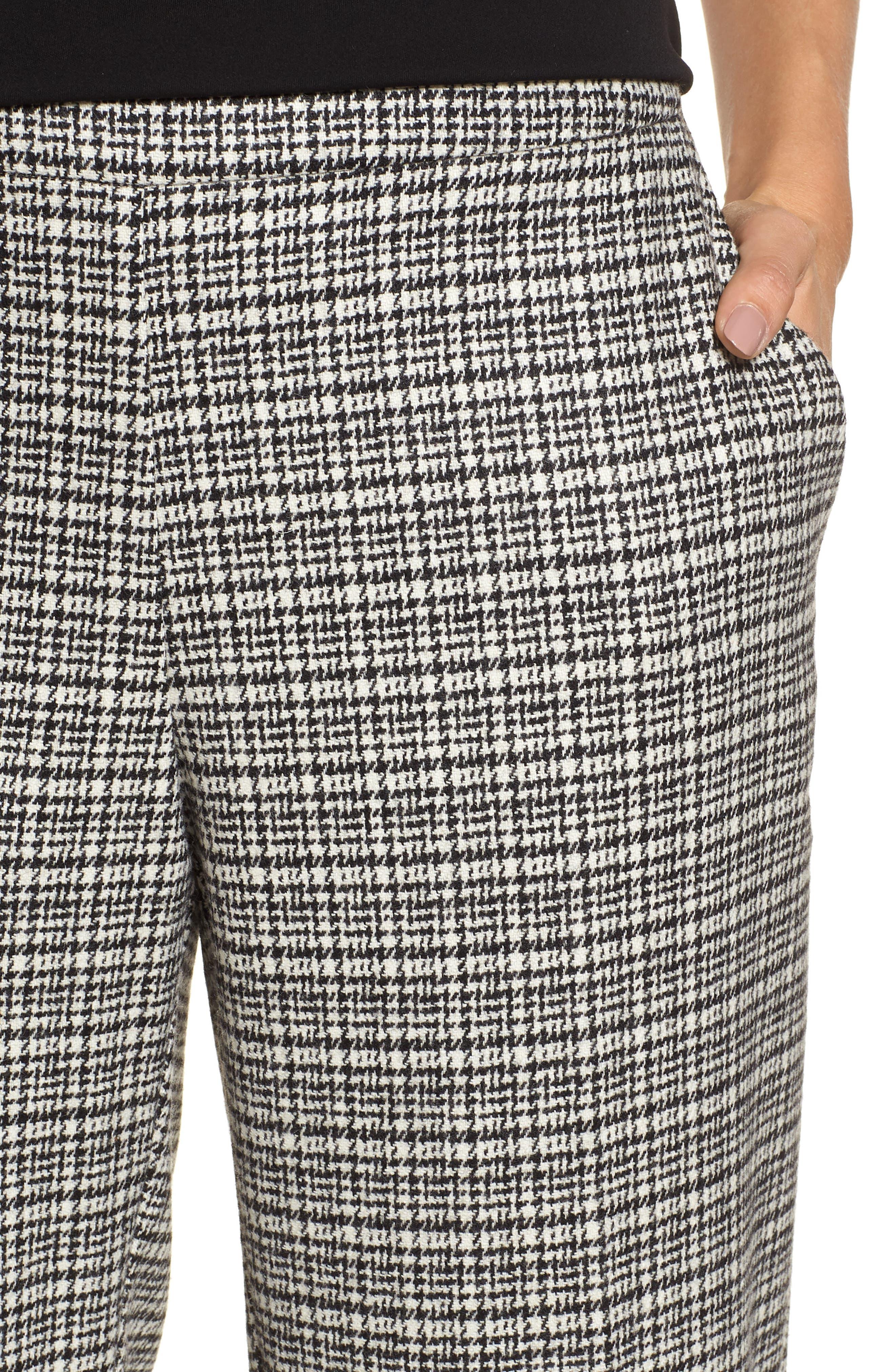 Slim Ankle Pants,                             Alternate thumbnail 4, color,                             018