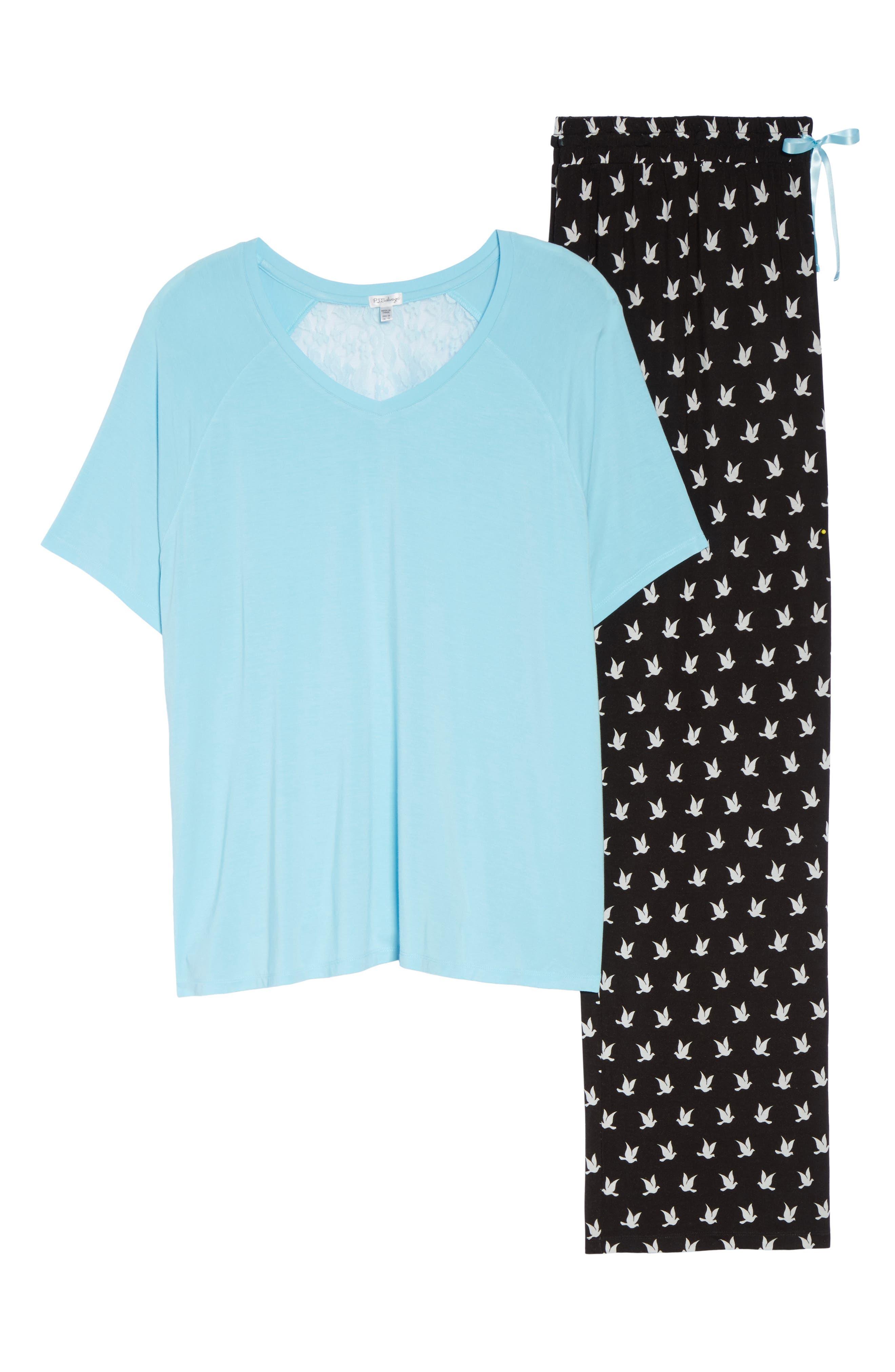 Pajamas,                             Alternate thumbnail 6, color,                             001