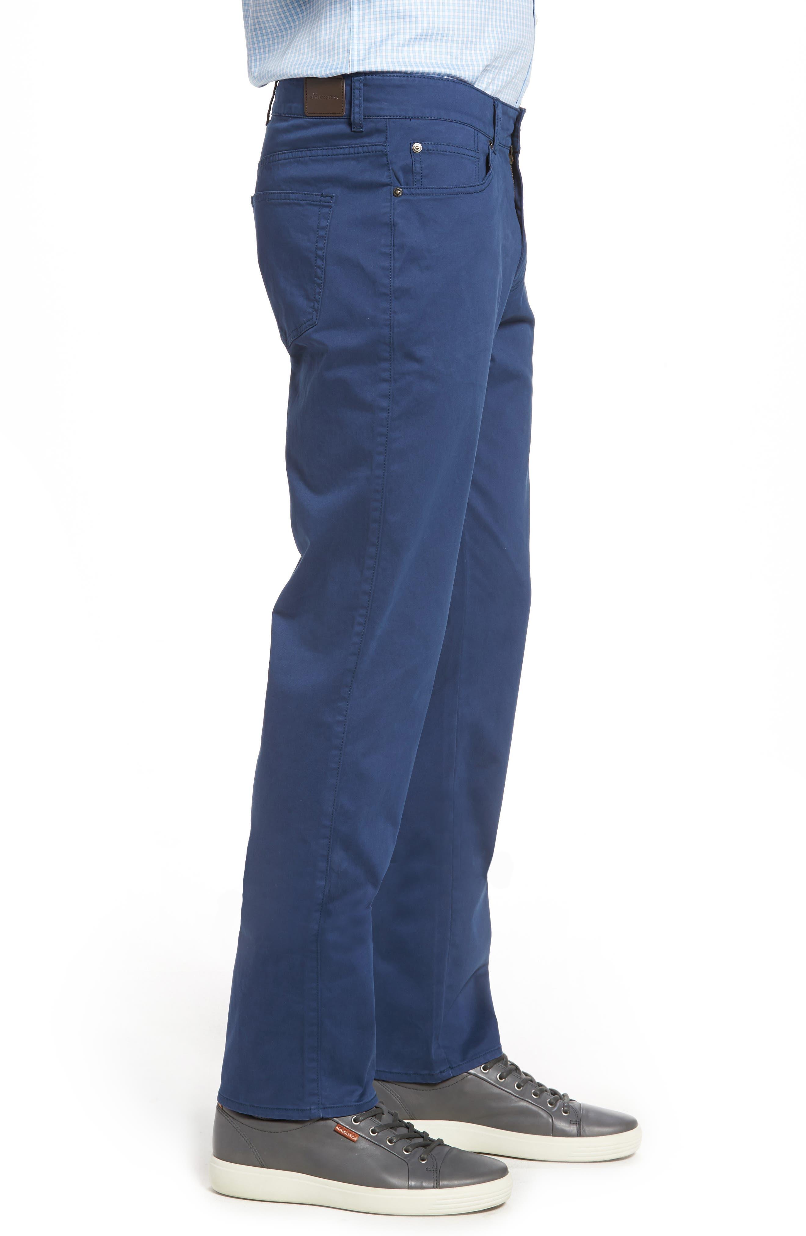 Stretch Sateen Five-Pocket Pants,                             Alternate thumbnail 12, color,