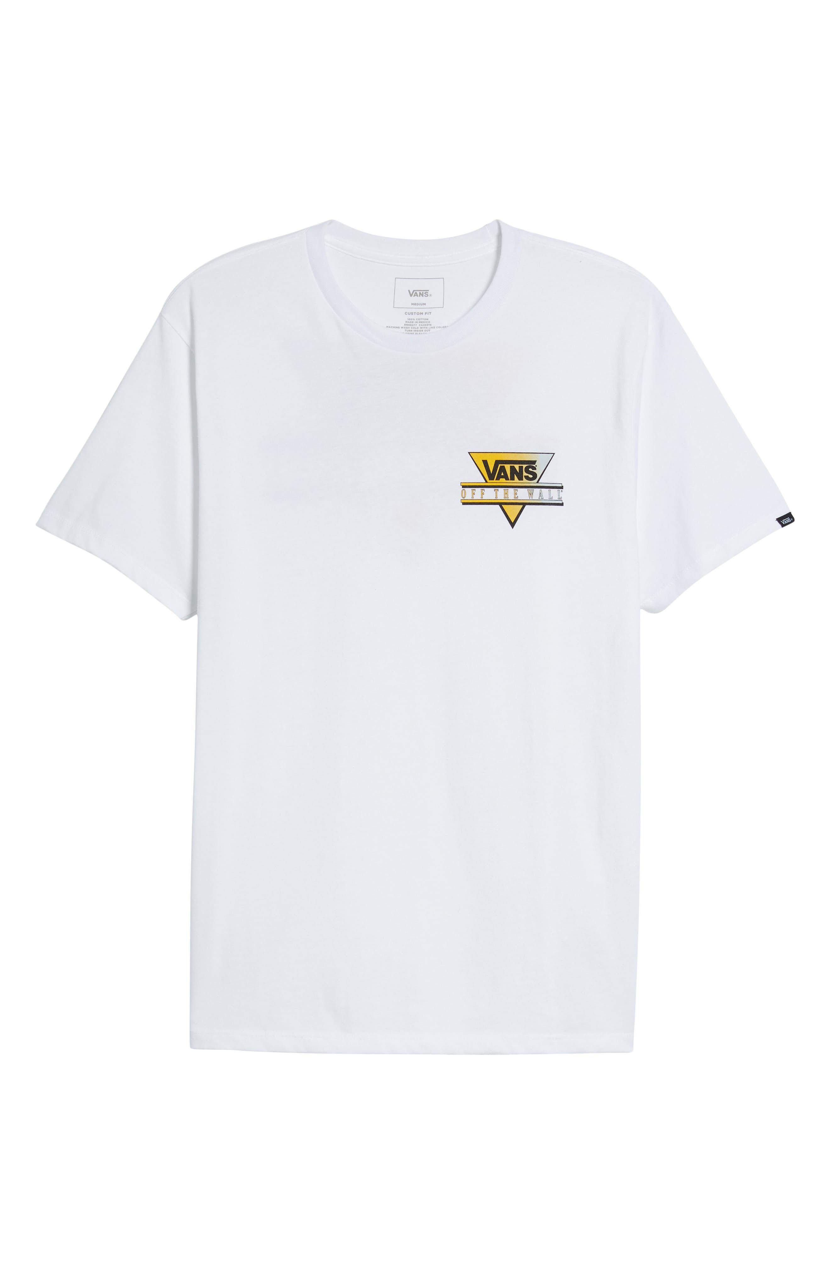 Retro Graphic T-Shirt,                             Alternate thumbnail 6, color,                             100