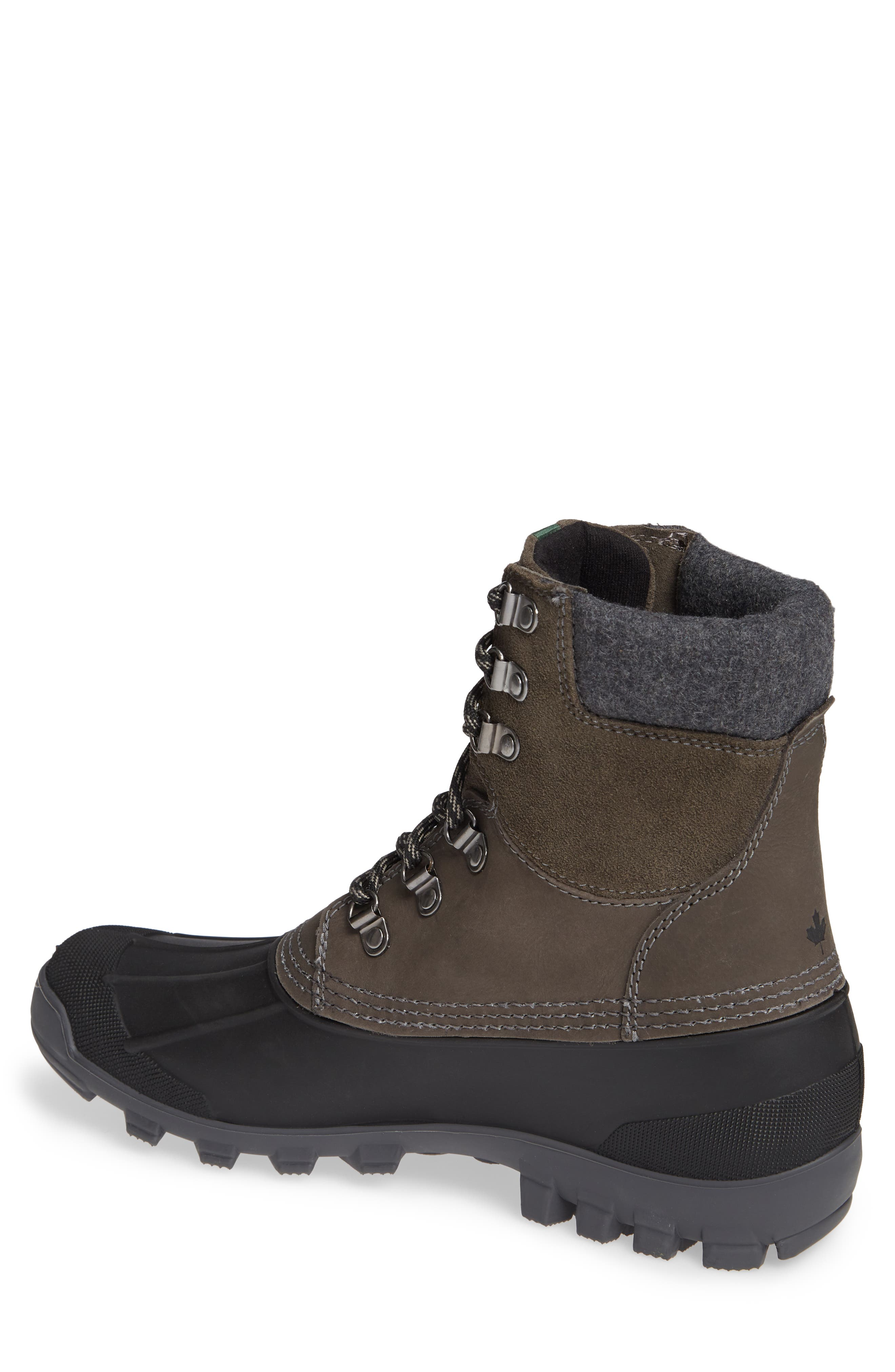 Hudson 5 Boot,                             Alternate thumbnail 2, color,                             CHARCOAL LEATHER