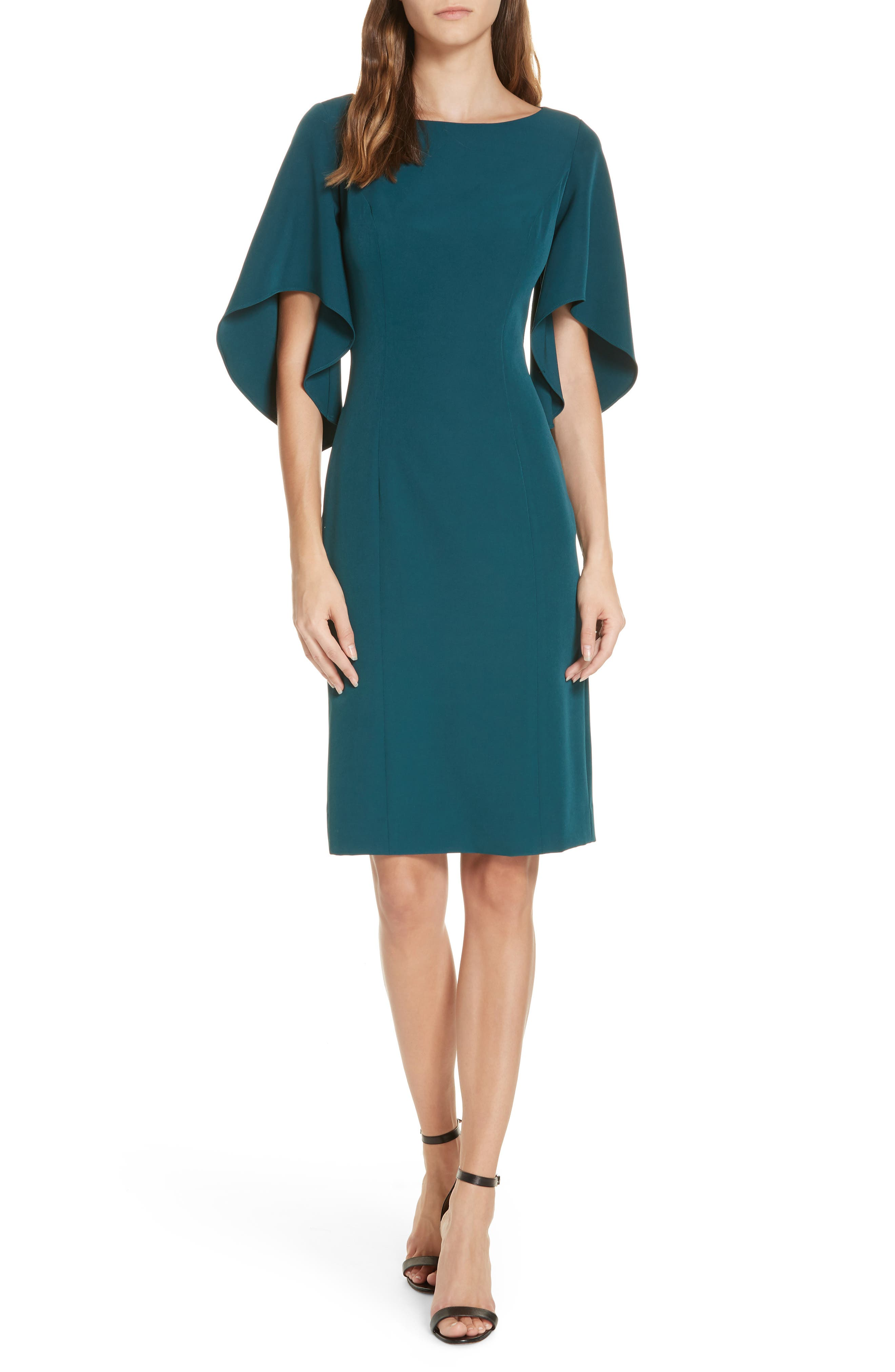 Milly Mila Cady Dress, Blue/green