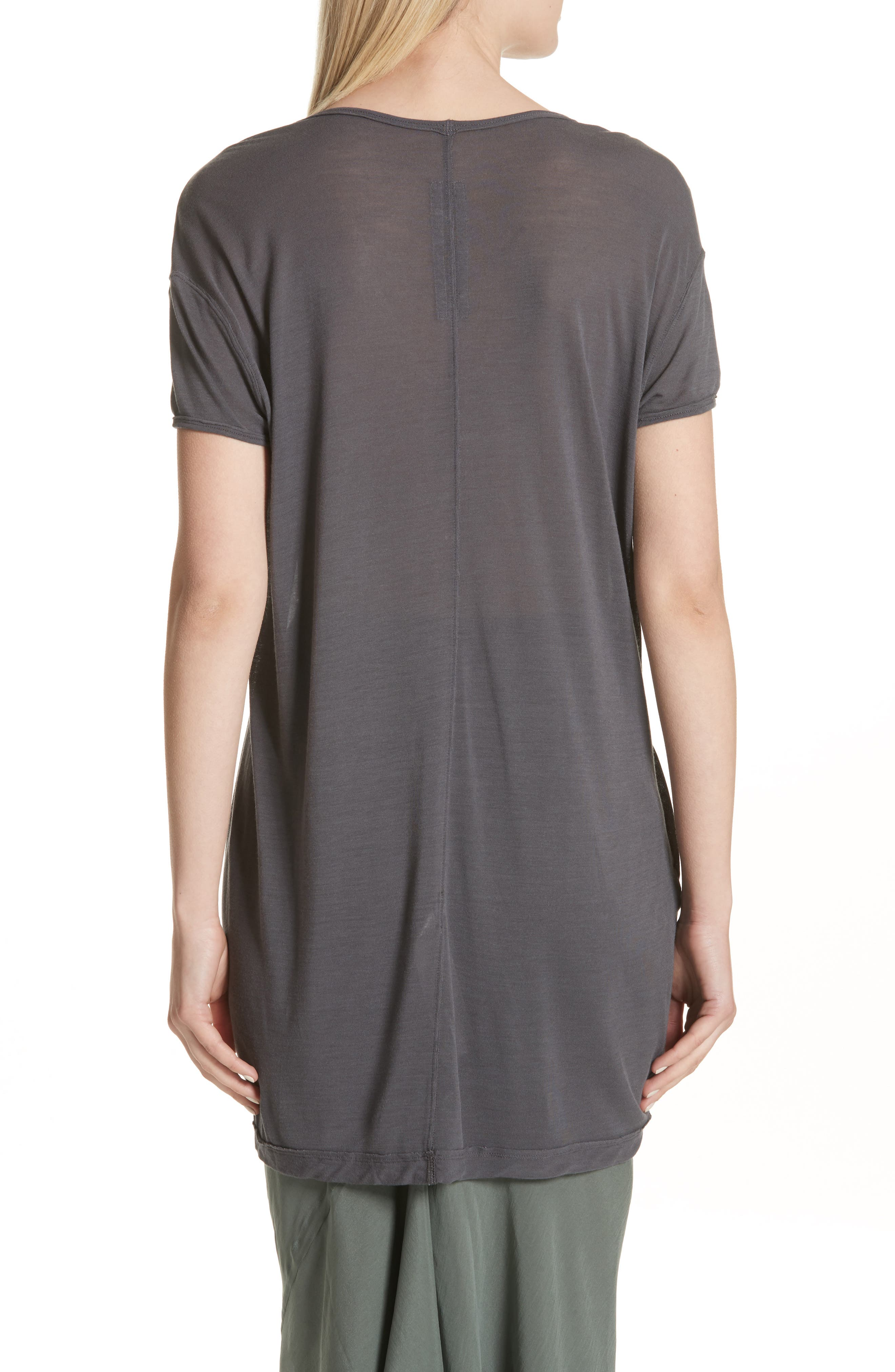 Sheer Tee,                             Alternate thumbnail 4, color,