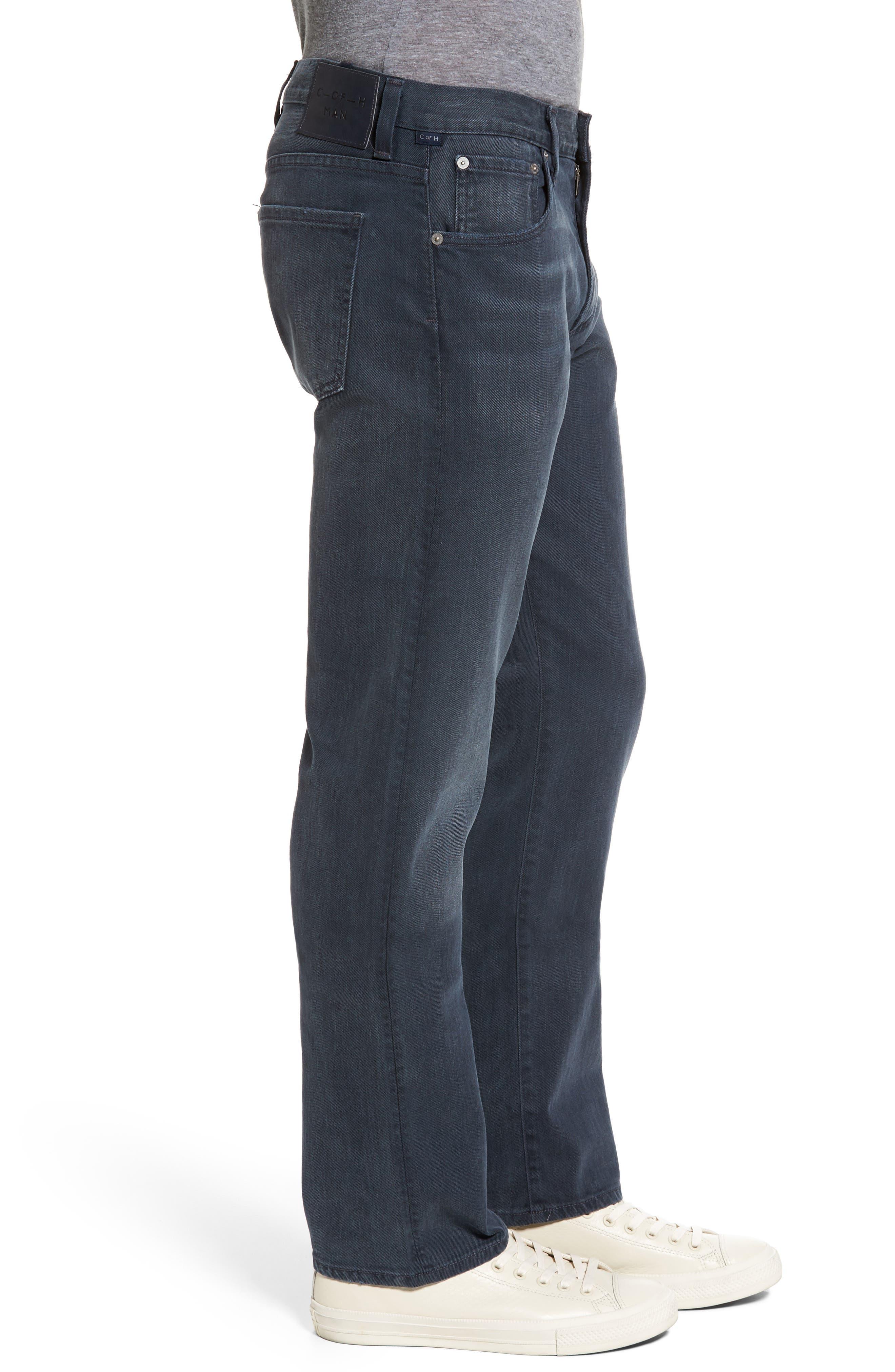 Sid Straight Leg Jeans,                             Alternate thumbnail 3, color,                             BLUE SKIES