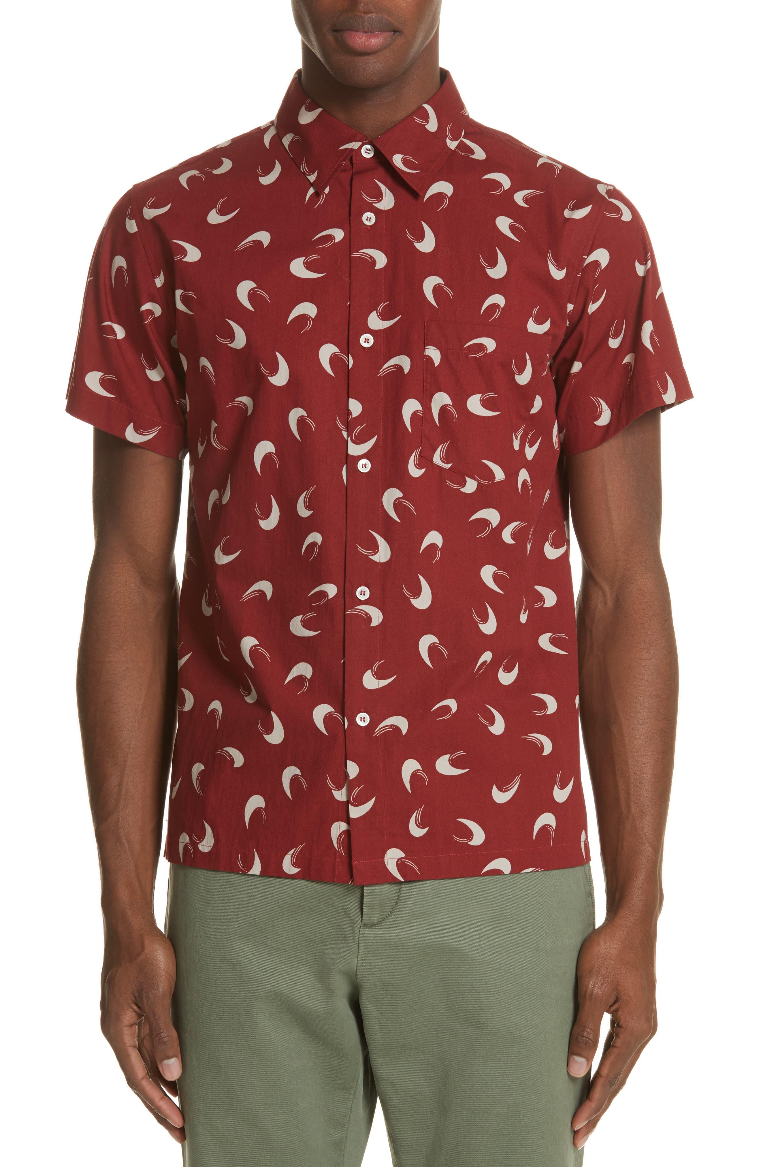 Cippi Woven Shirt,                             Main thumbnail 1, color,                             601