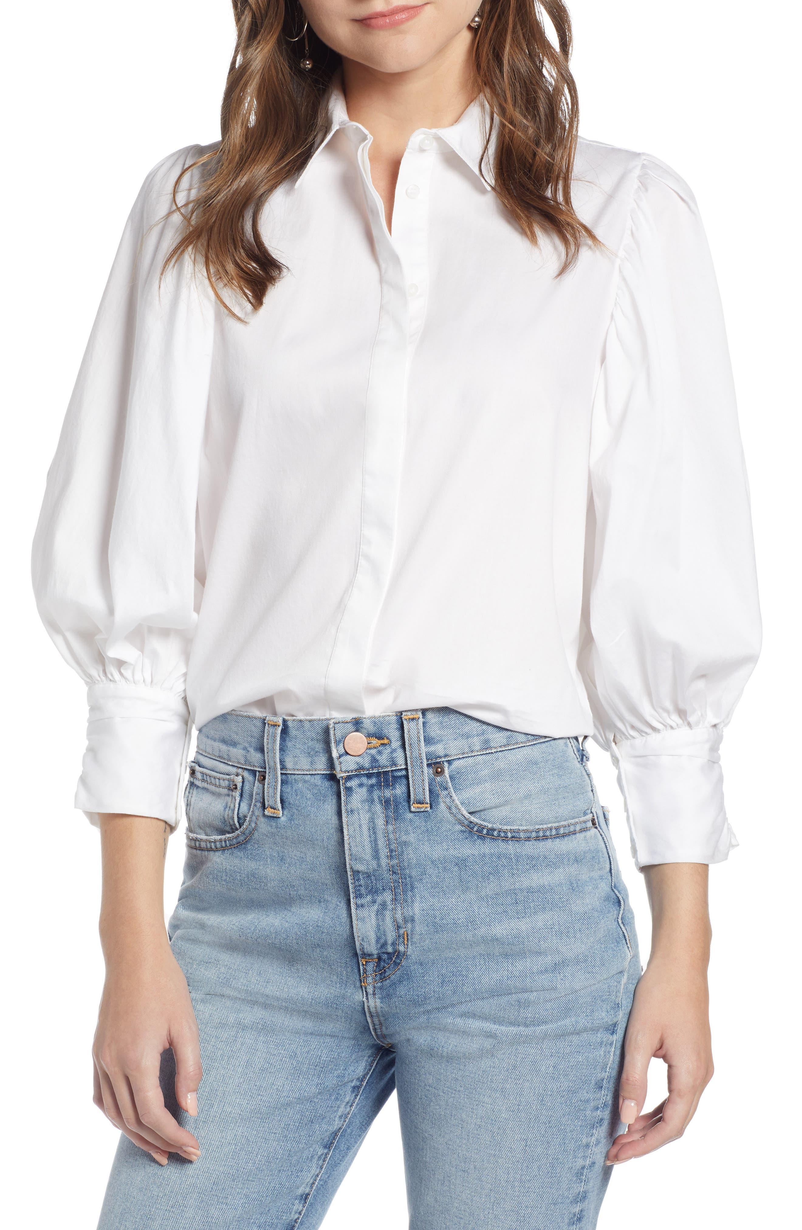 SOMETHING NAVY,                             Full Sleeve Button Through Shirt,                             Main thumbnail 1, color,                             100
