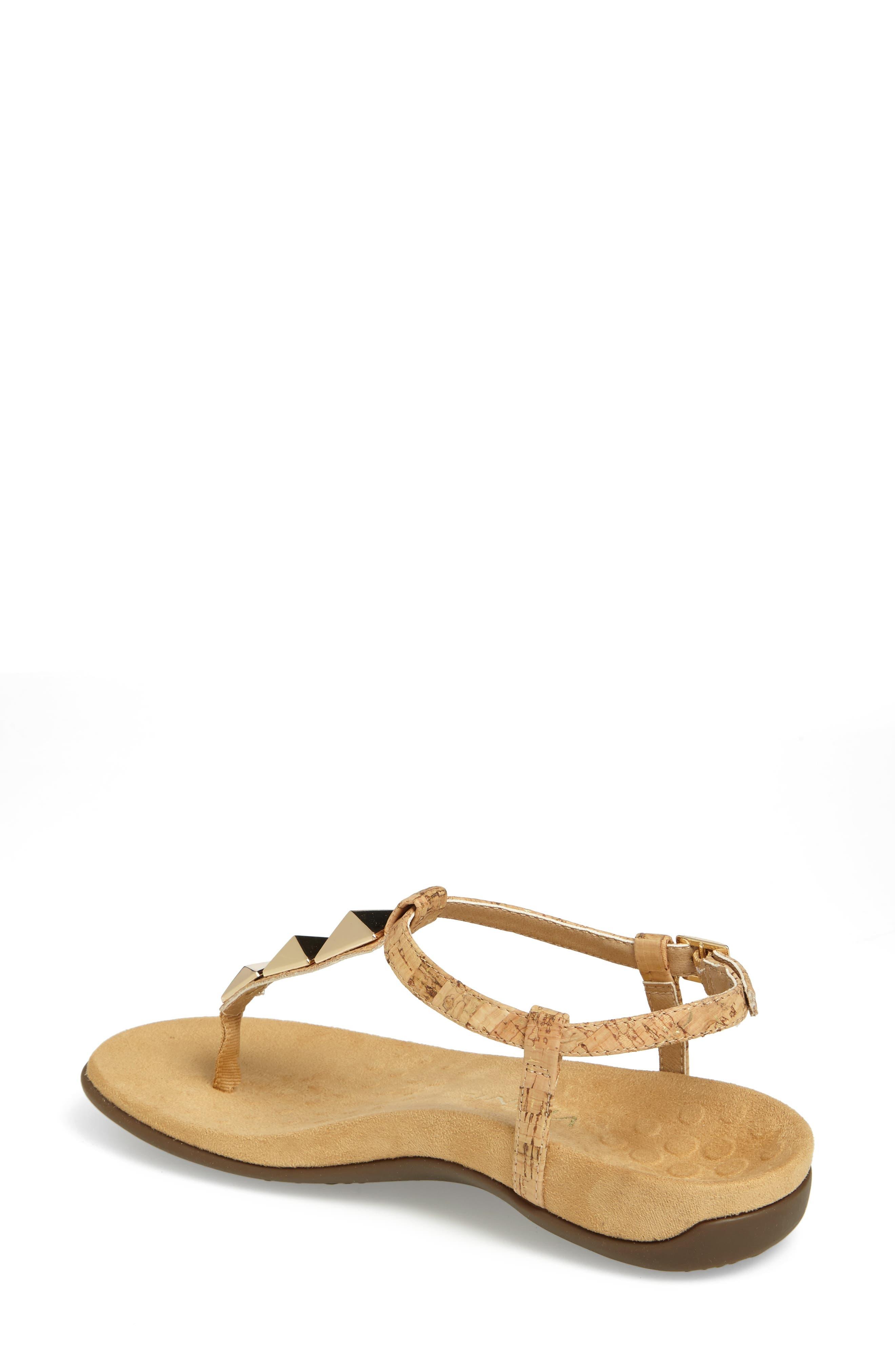 Nala T-Strap Sandal,                             Alternate thumbnail 8, color,