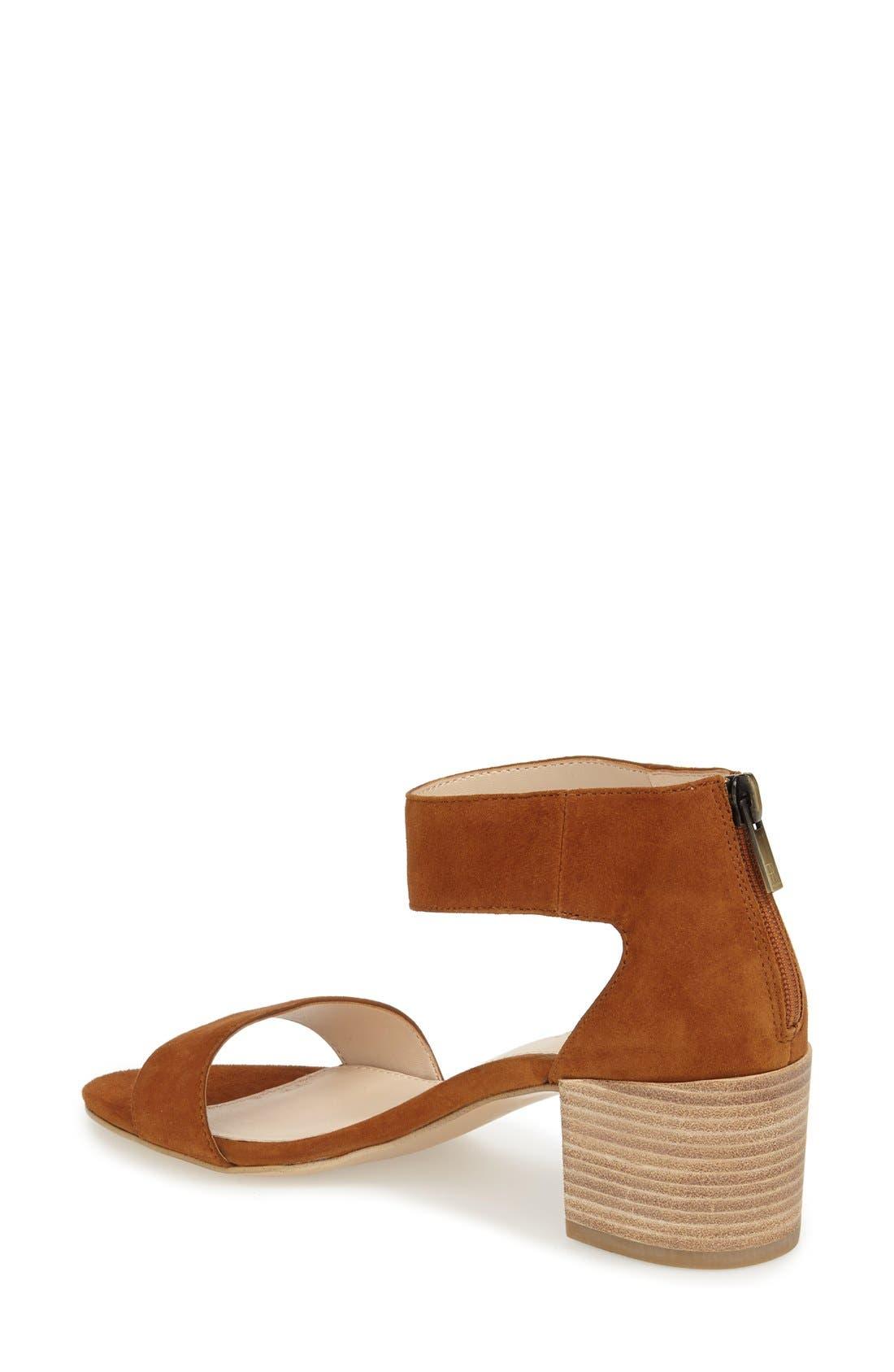 Pella Moda 'Urban' Block Heel Sandal,                             Alternate thumbnail 5, color,