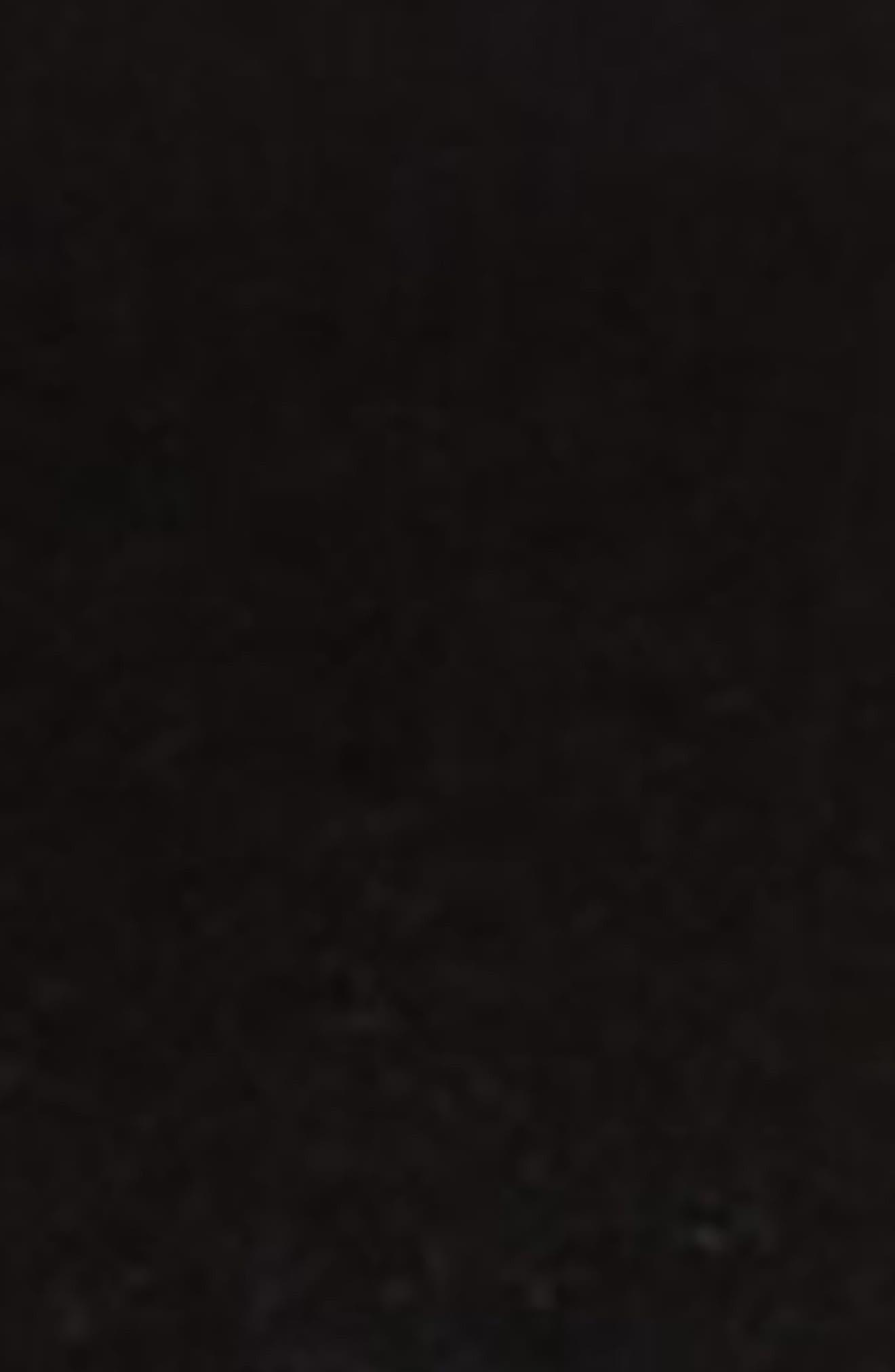 Tailored Trouser Leather Belt,                             Alternate thumbnail 3, color,                             BLACK