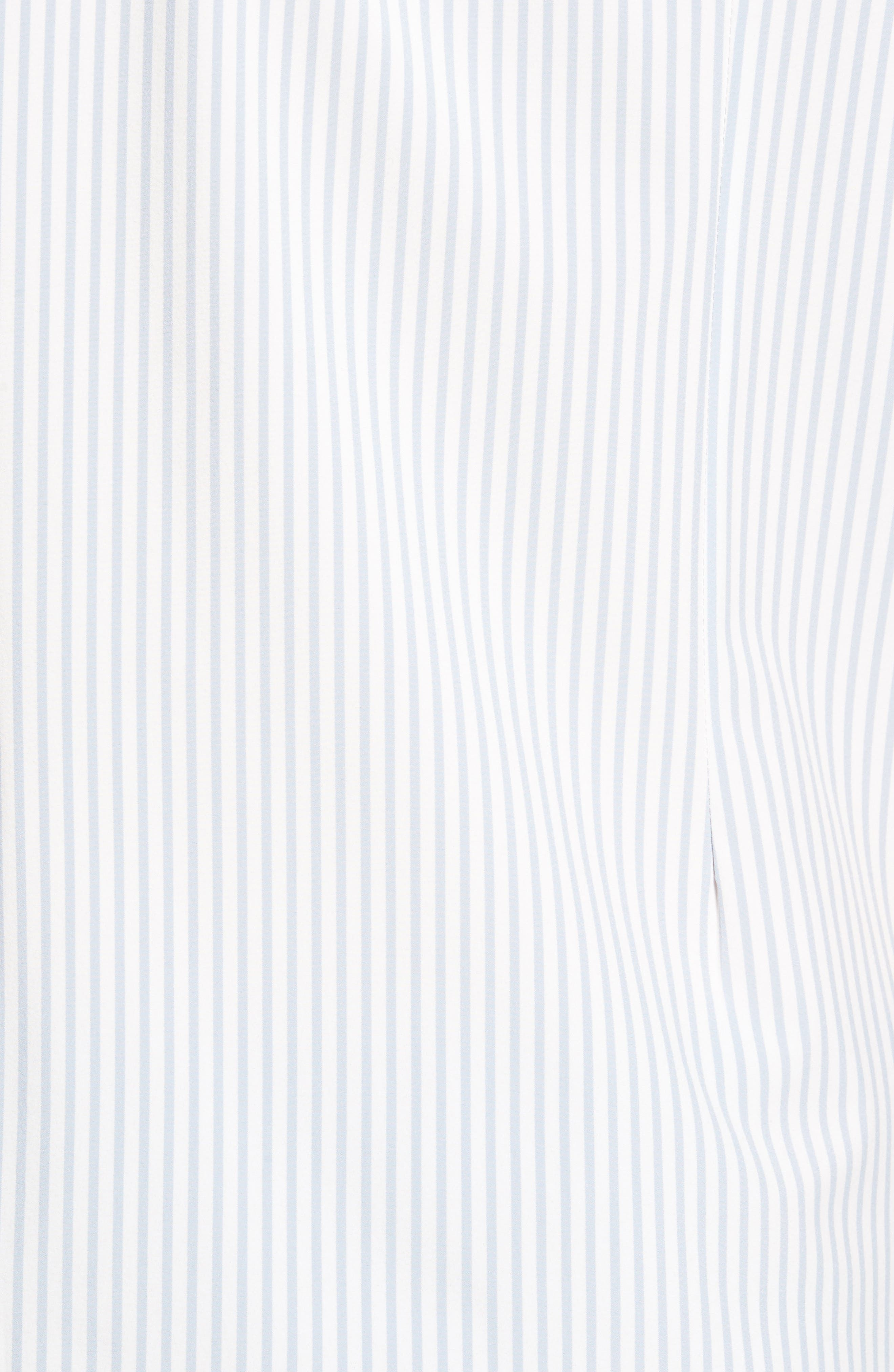 St. Elias Stripe Sport Shirt,                             Alternate thumbnail 5, color,                             100