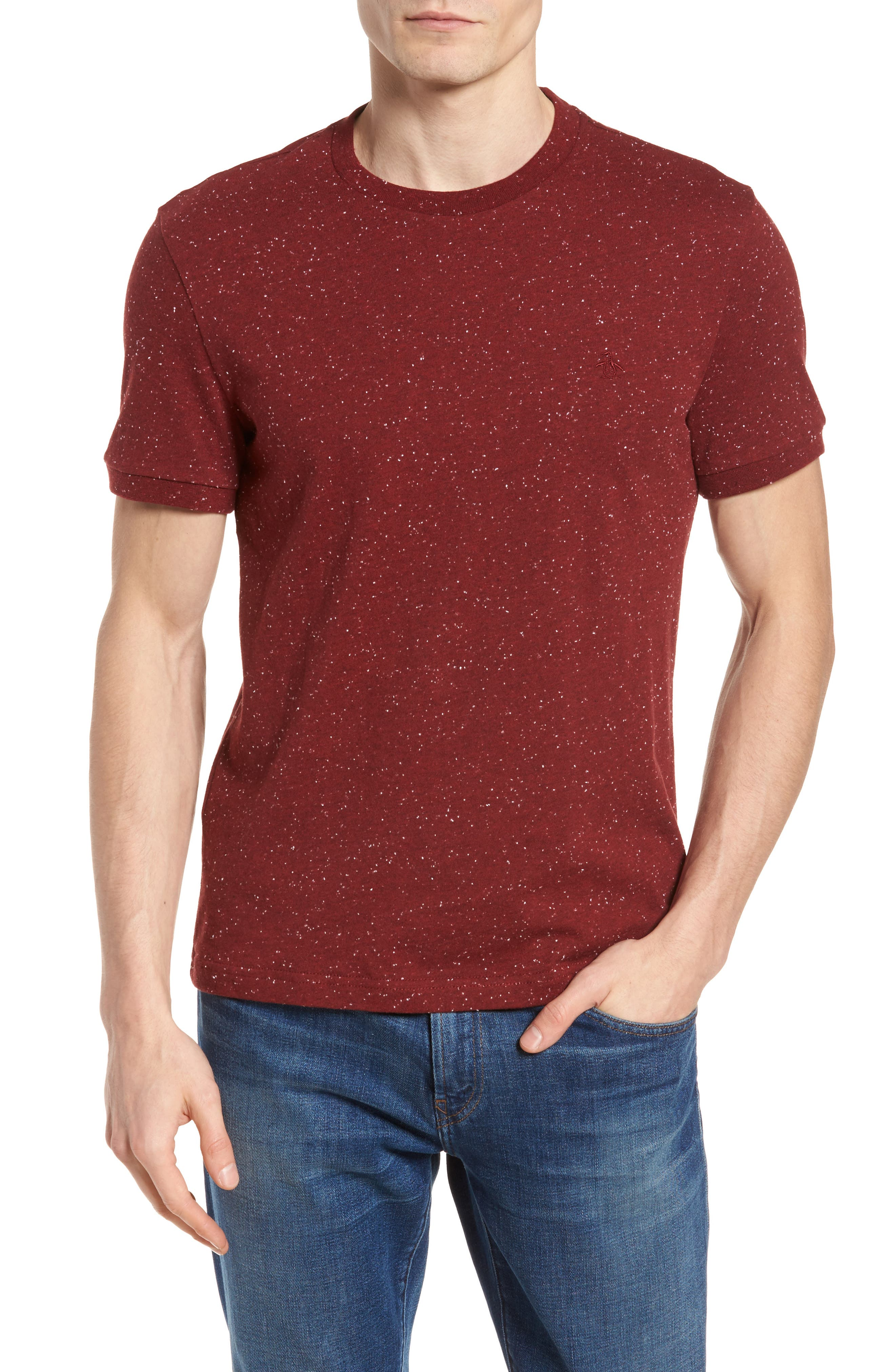 Nep Speckled T-Shirt,                             Main thumbnail 3, color,