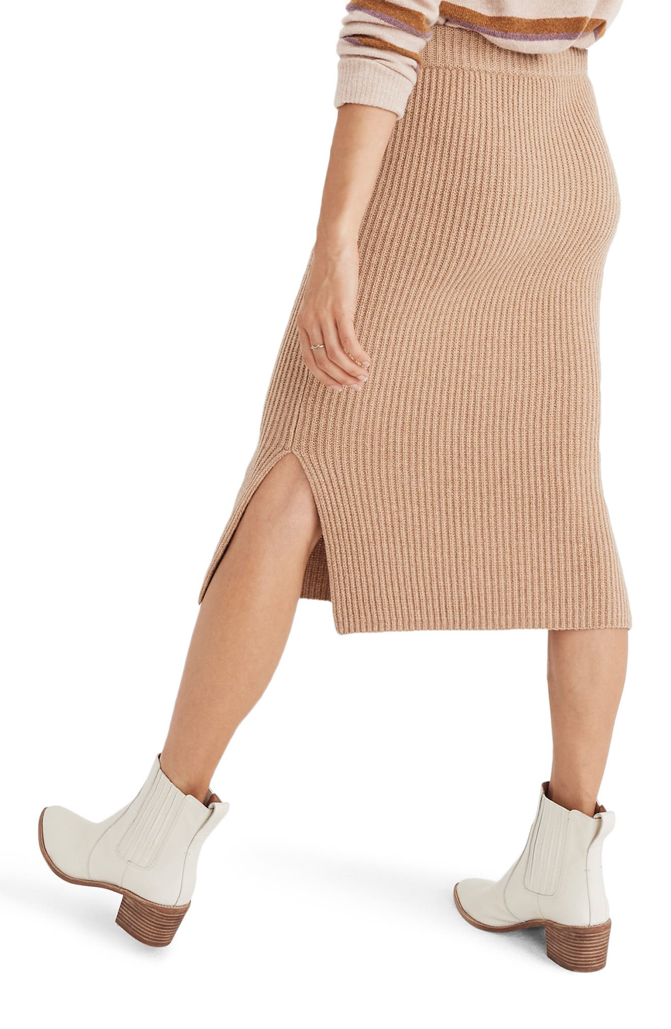 Patch Pocket Sweater Skirt,                             Alternate thumbnail 2, color,                             200