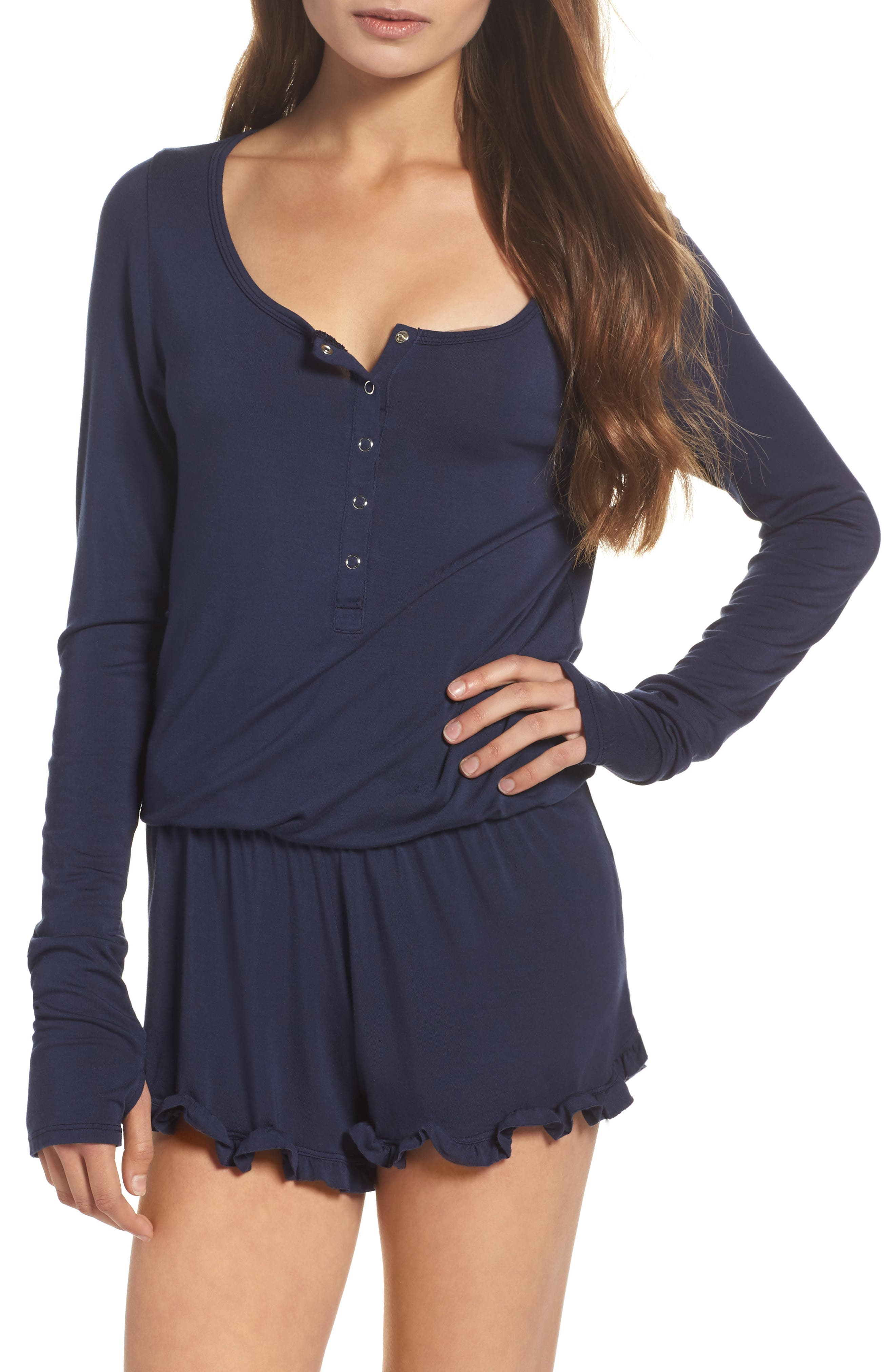 Benny Henley Romper,                         Main,                         color, 412