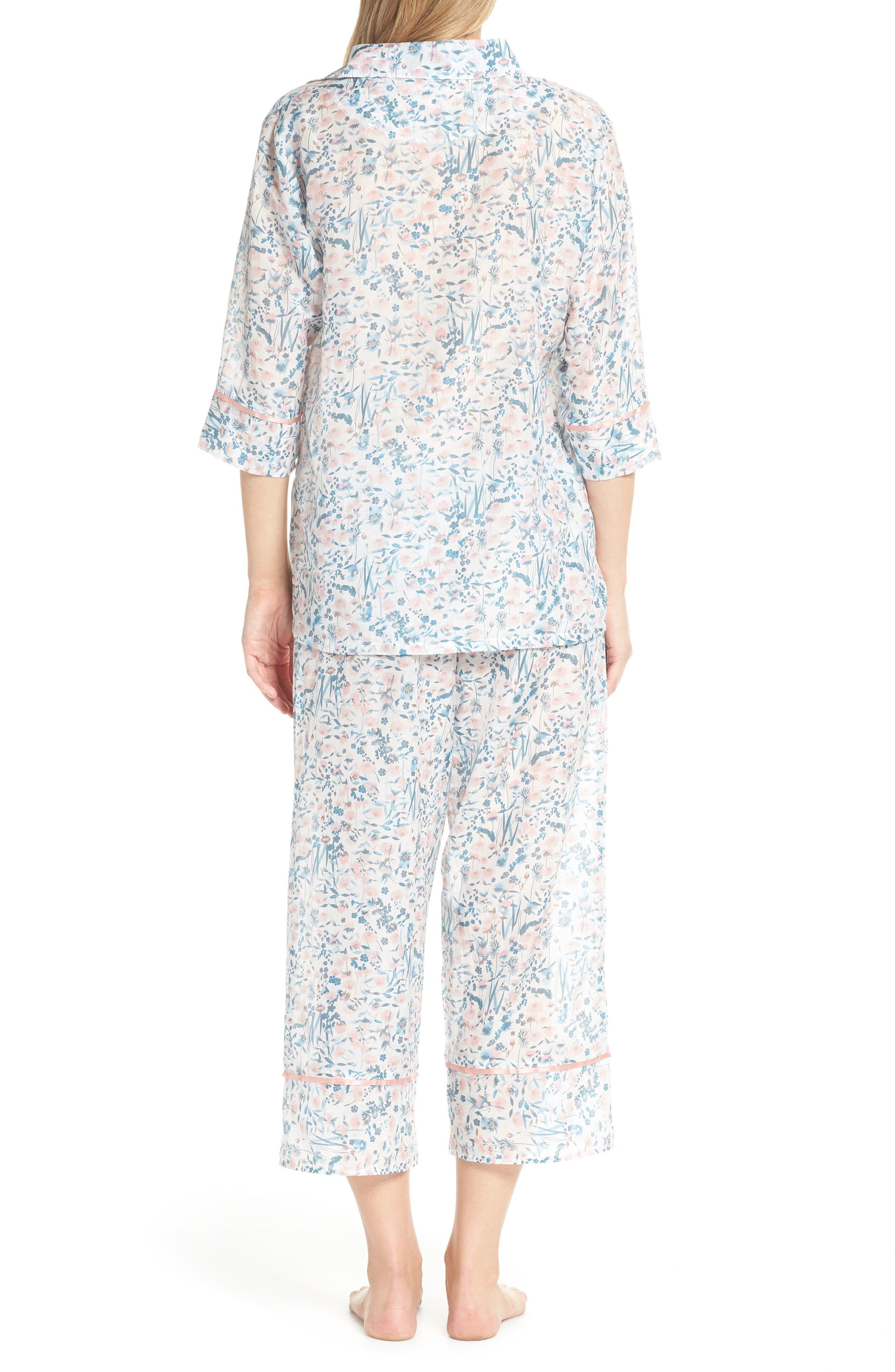 Ellie Crop Pajamas,                             Alternate thumbnail 2, color,                             400