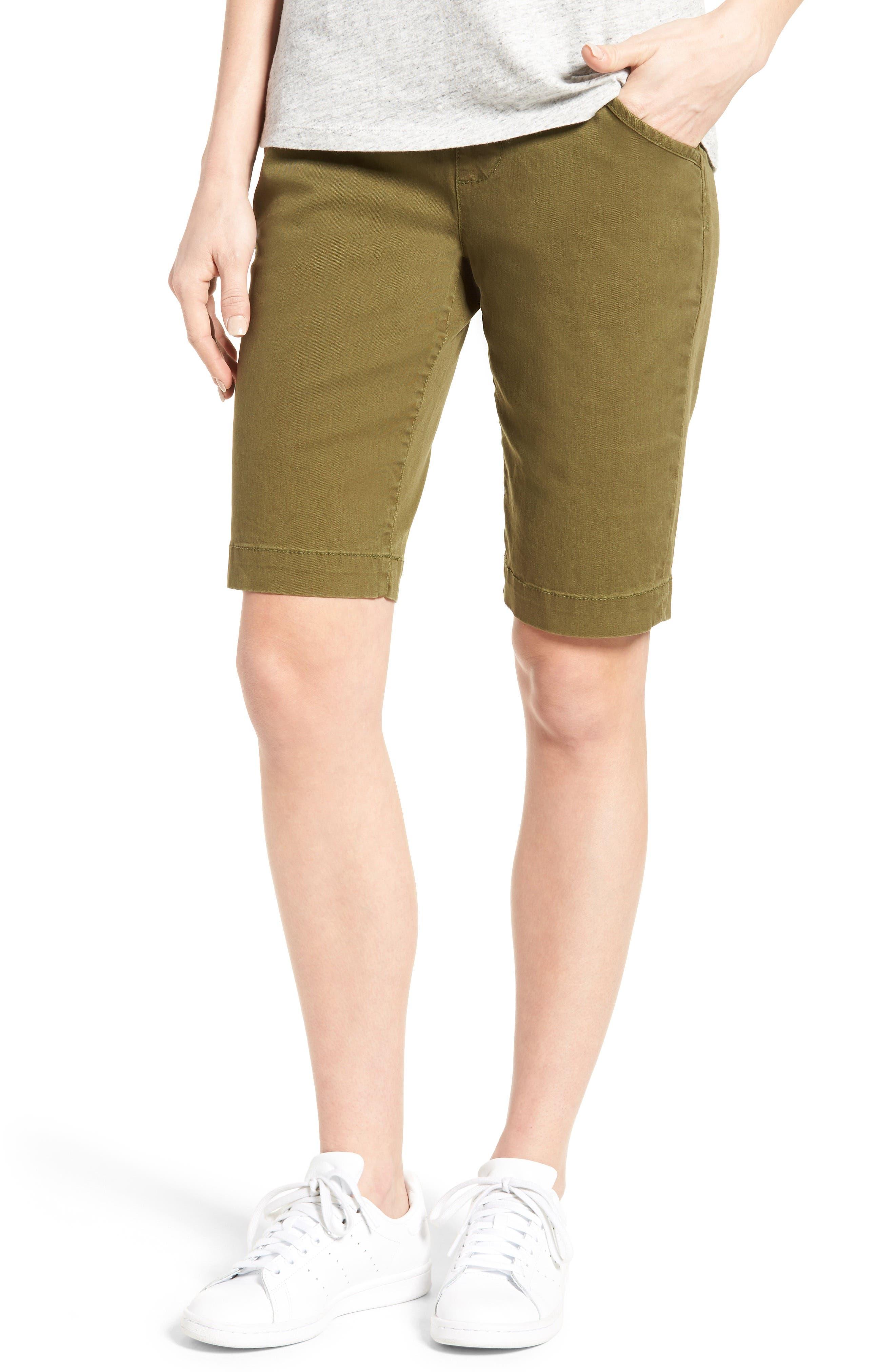 'Ainsley' Slim Bermuda Shorts,                             Main thumbnail 8, color,