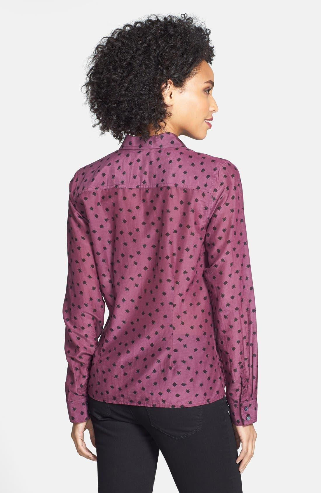 Cotton & Silk Shirt,                             Alternate thumbnail 176, color,