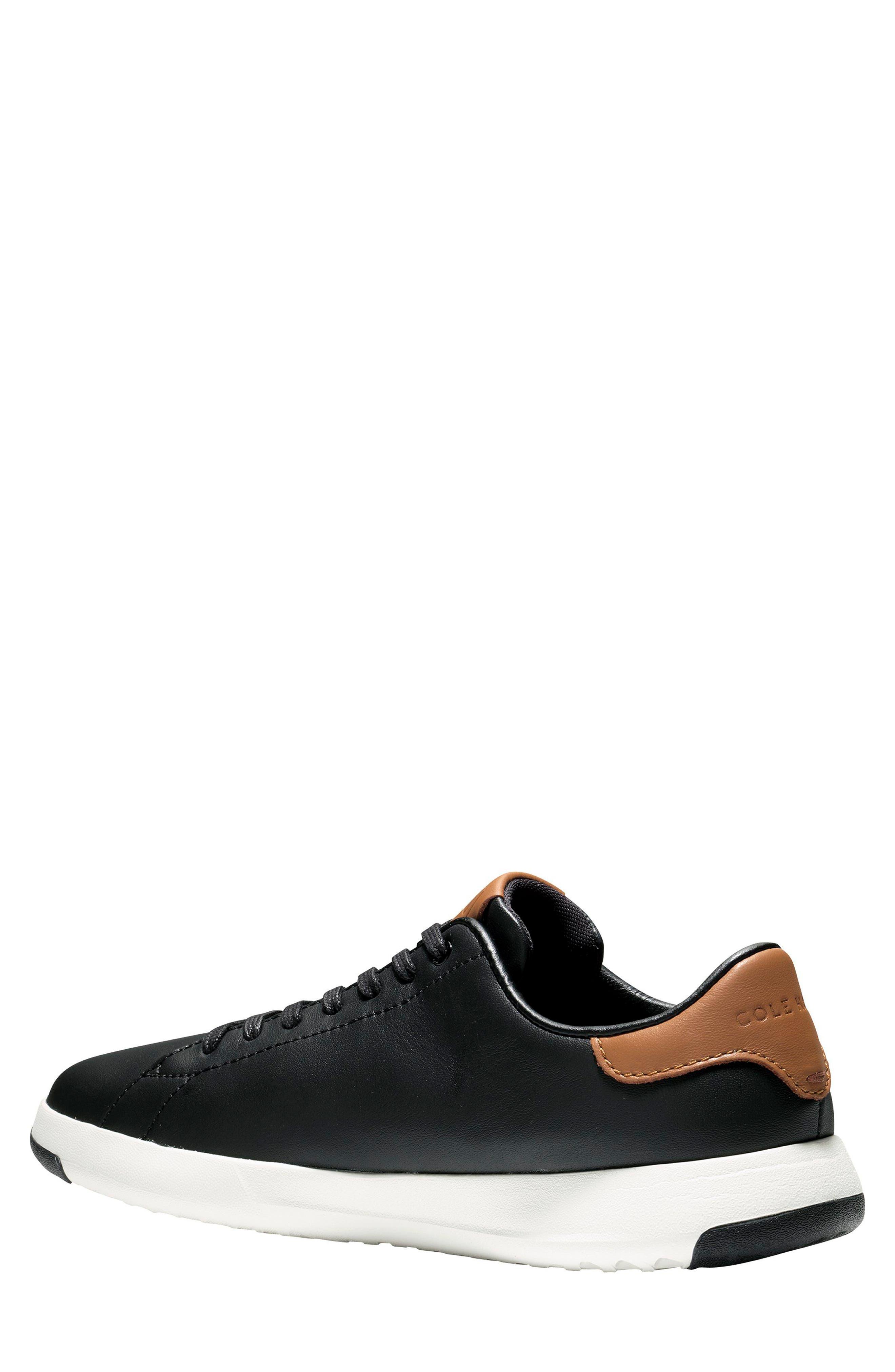 GrandPro Tennis Sneaker,                             Alternate thumbnail 2, color,                             BLACK/ BRITISH TAN