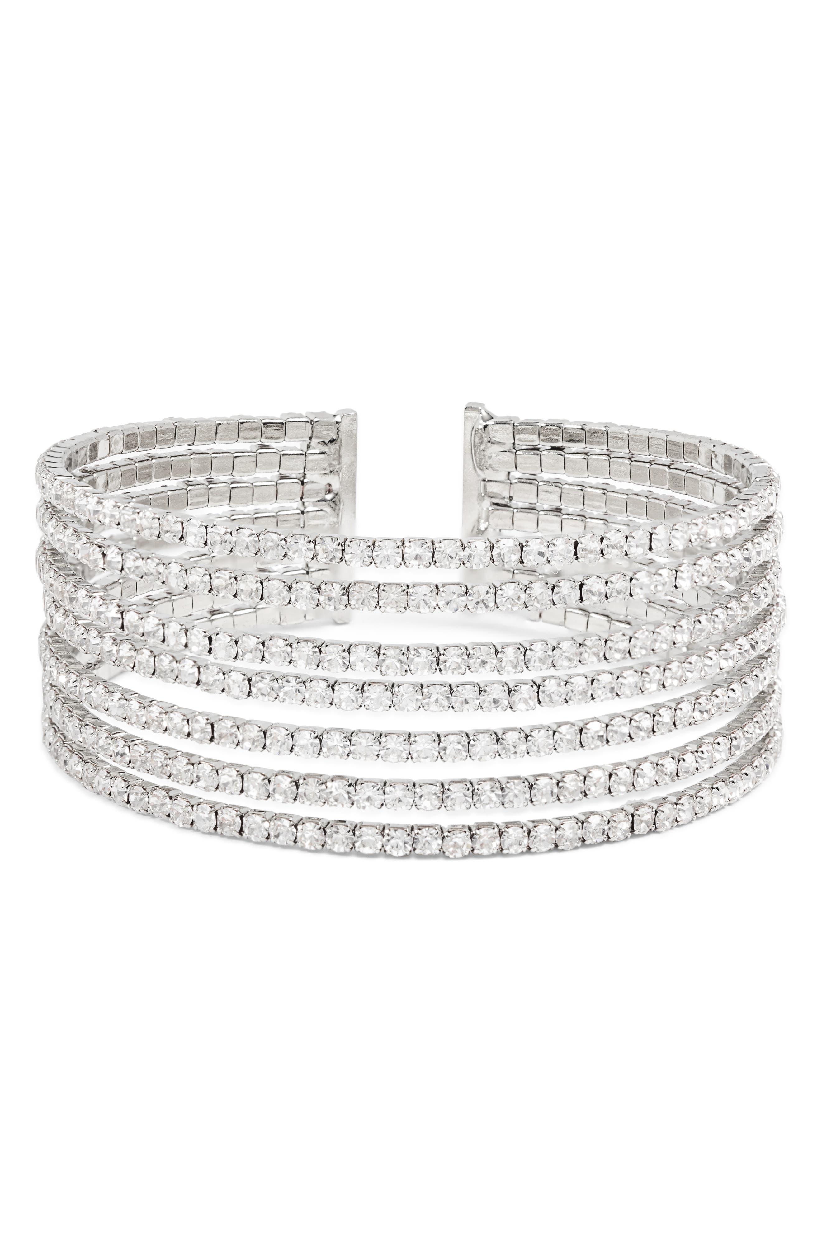 AREA STARS Dewitt Cuff (Nordstrom Exclusive) in Silver