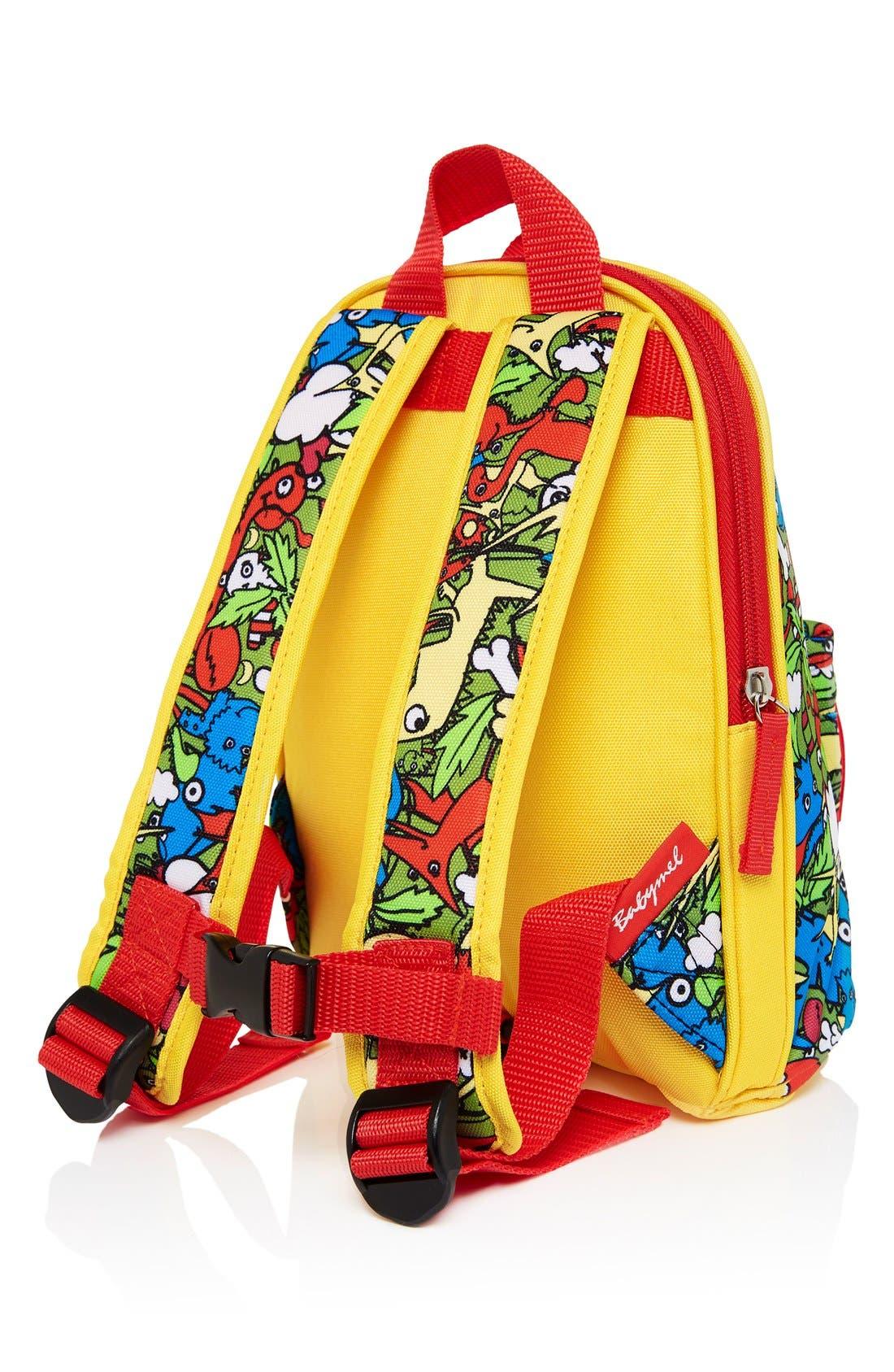 Graphic Mini Backpack,                             Alternate thumbnail 7, color,                             DINO MULTI